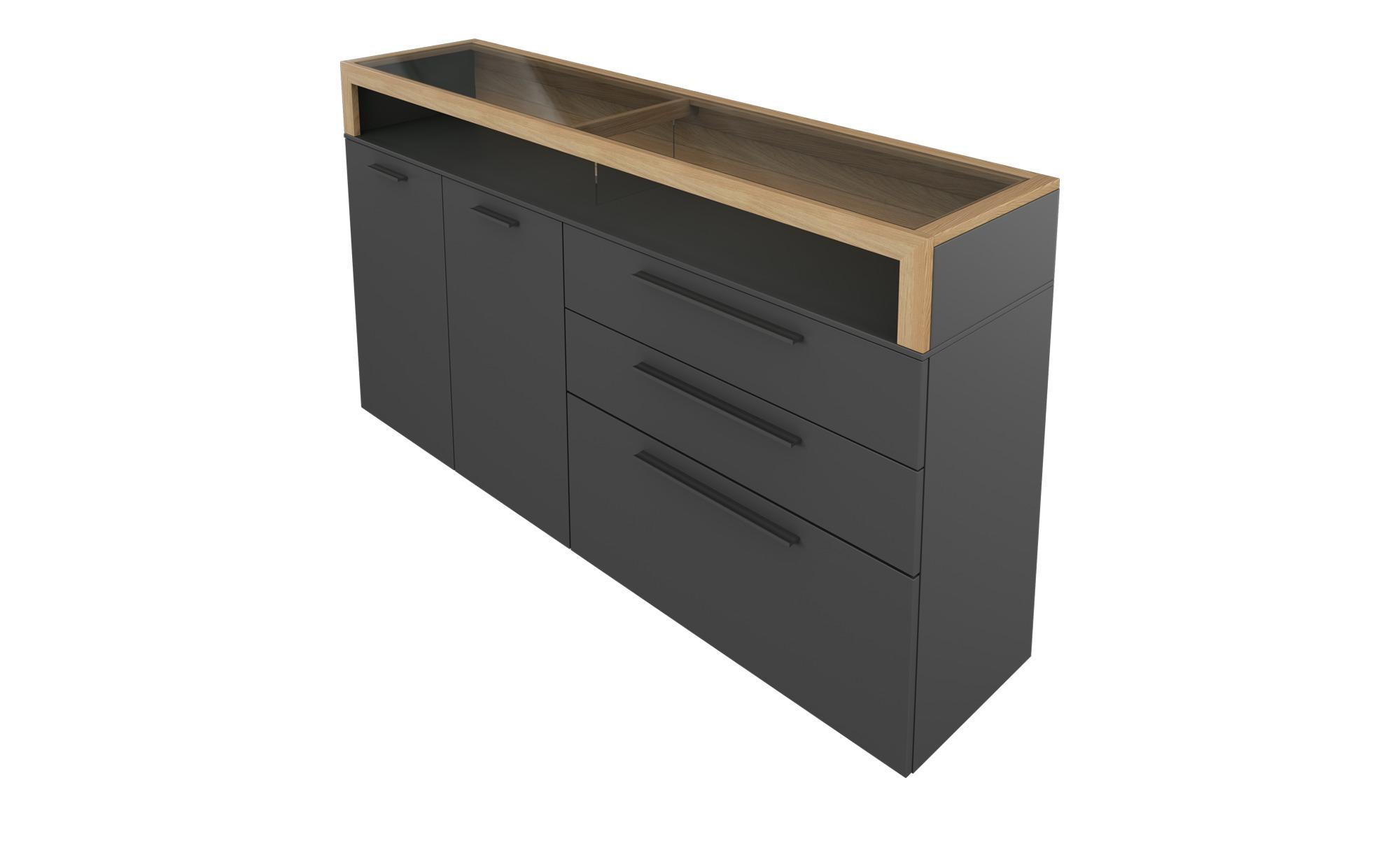 Gallery M Sideboard  Arrive ¦ grau ¦ Maße (cm): B: 181 H: 100 T: 43 Kommoden & Sideboards > Sideboards - Höffner
