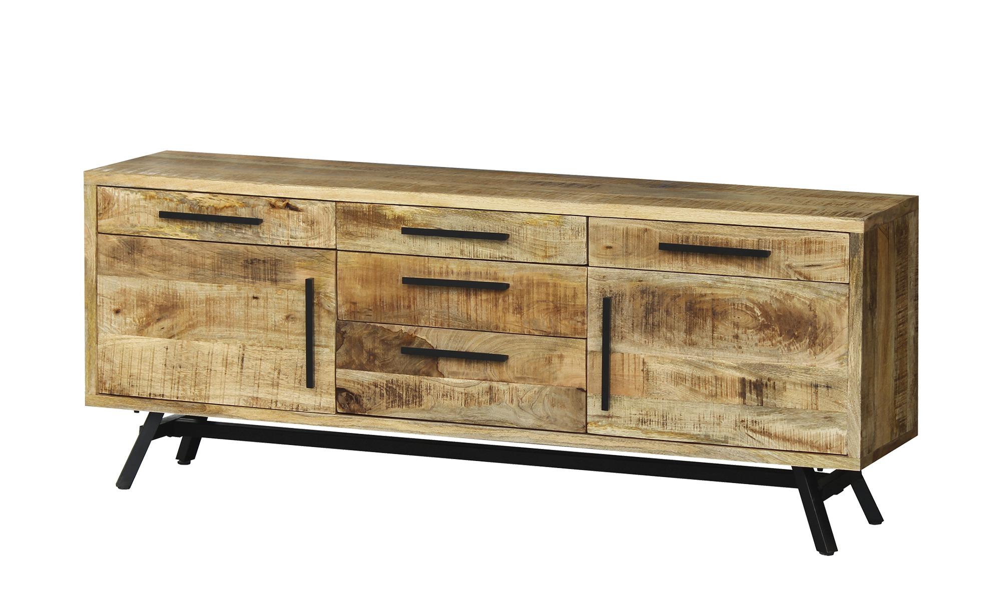 Sideboard  Fullham ¦ holzfarben ¦ Maße (cm): B: 180 H: 71 T: 40 Kommoden & Sideboards > Sideboards - Höffner
