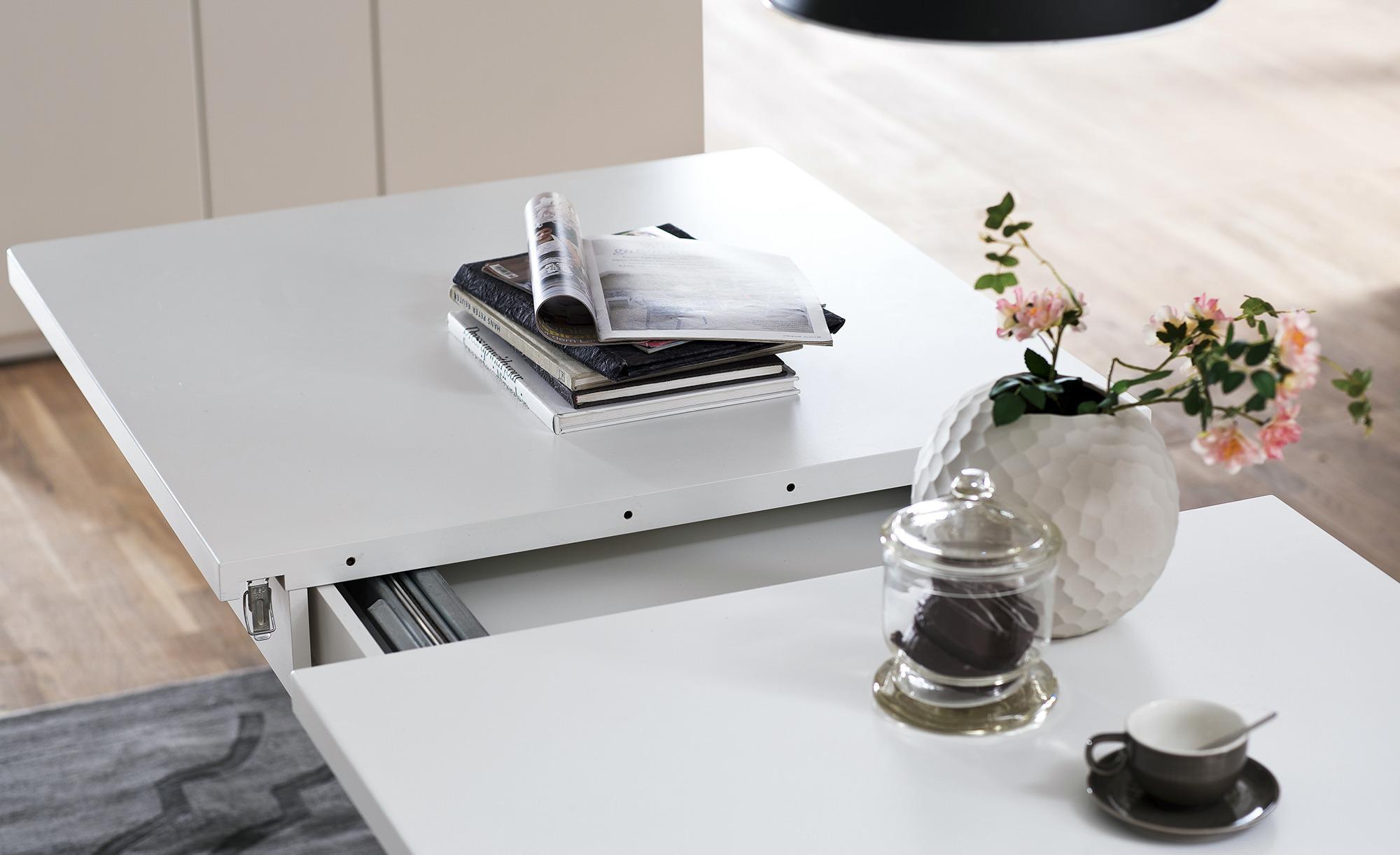 uno Esstisch  Melin ¦ weiß ¦ Maße (cm): B: 90 H: 79 Tische > Esstische > Esstische ausziehbar - Höffner