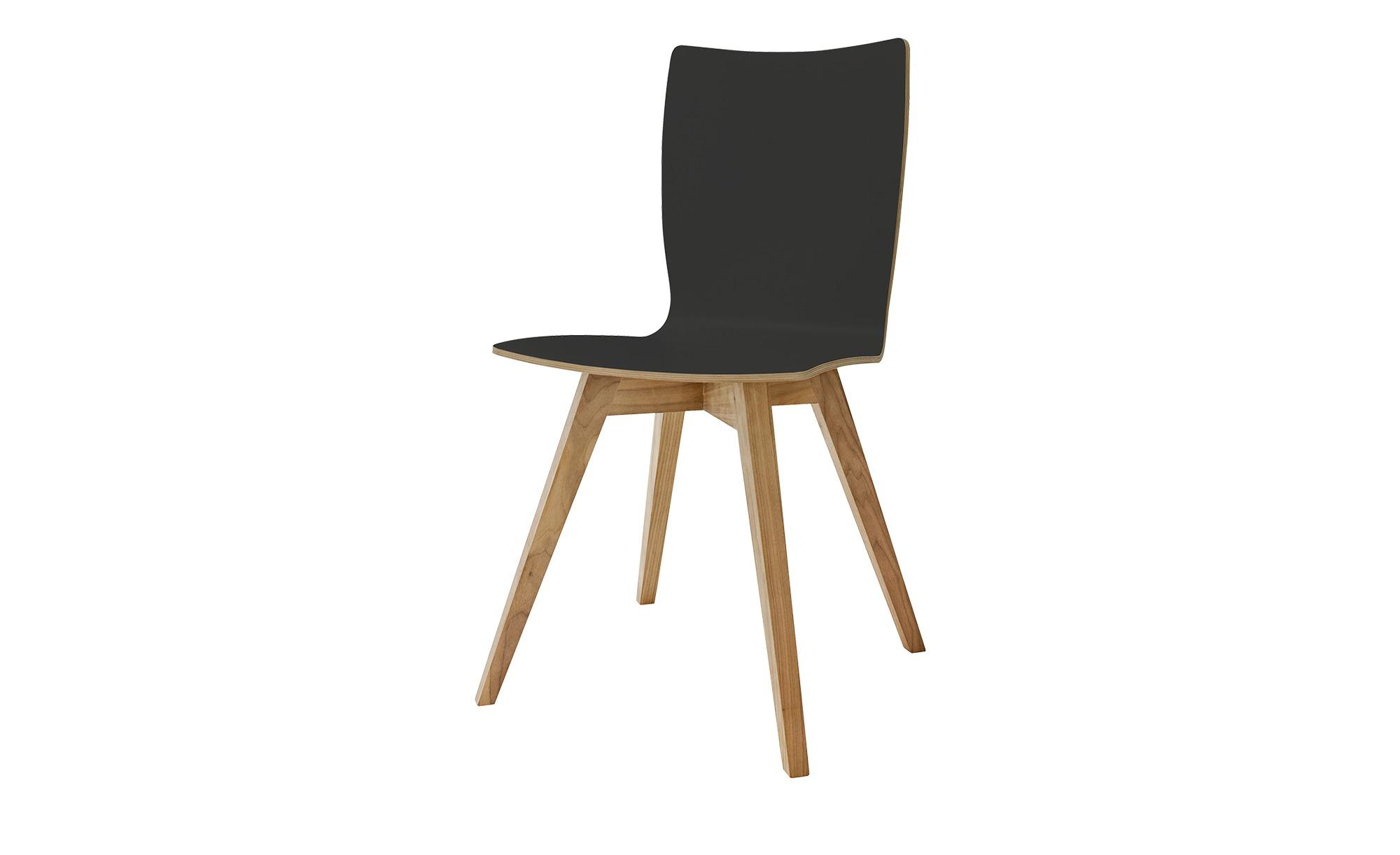 now! by hülsta Schalenstuhl  S 20-3 ¦ grau Stühle > Holzstühle - Höffner | Küche und Esszimmer | Grau | Holz | Möbel Höffner DE
