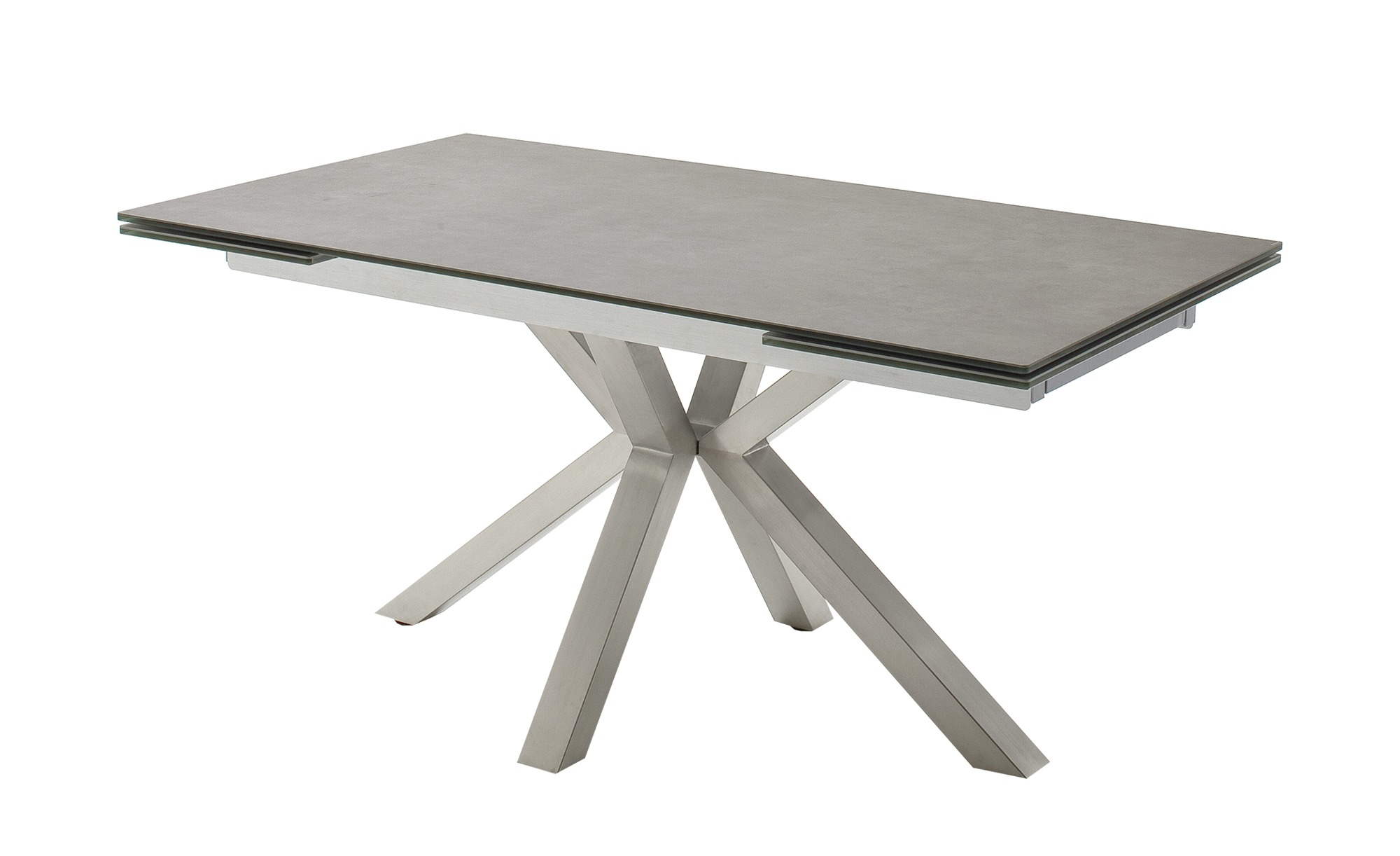 Esstisch  Nora ¦ grau ¦ Maße (cm): B: 90 H: 76 Tische > Esstische > Esstische ausziehbar - Höffner
