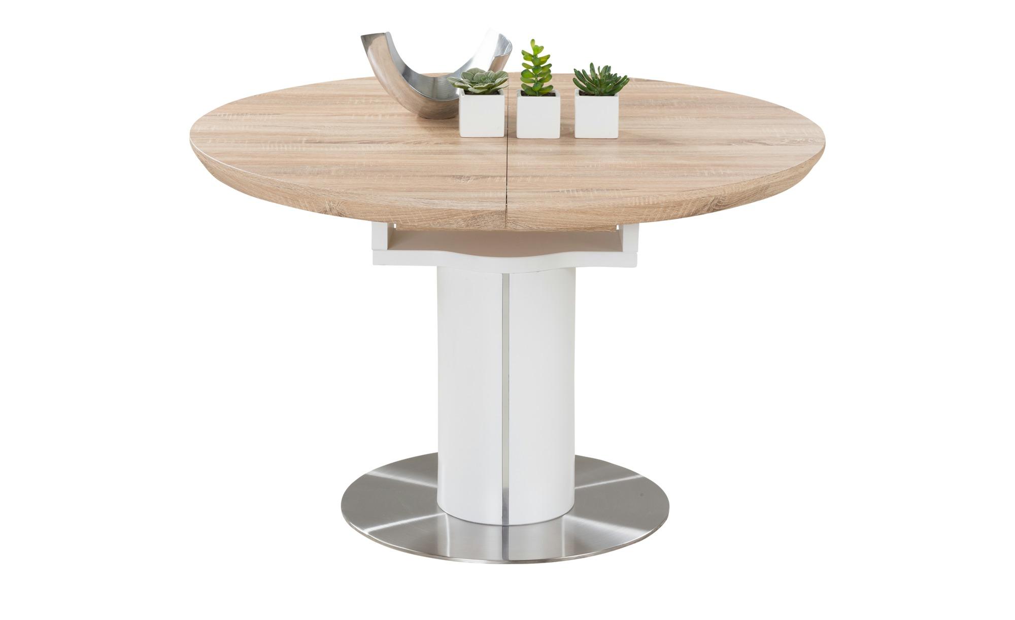 Tisch Rund Zum Ausziehen.Esstisch Rund Ausziehbar Harvey Gefunden Bei Möbel Höffner