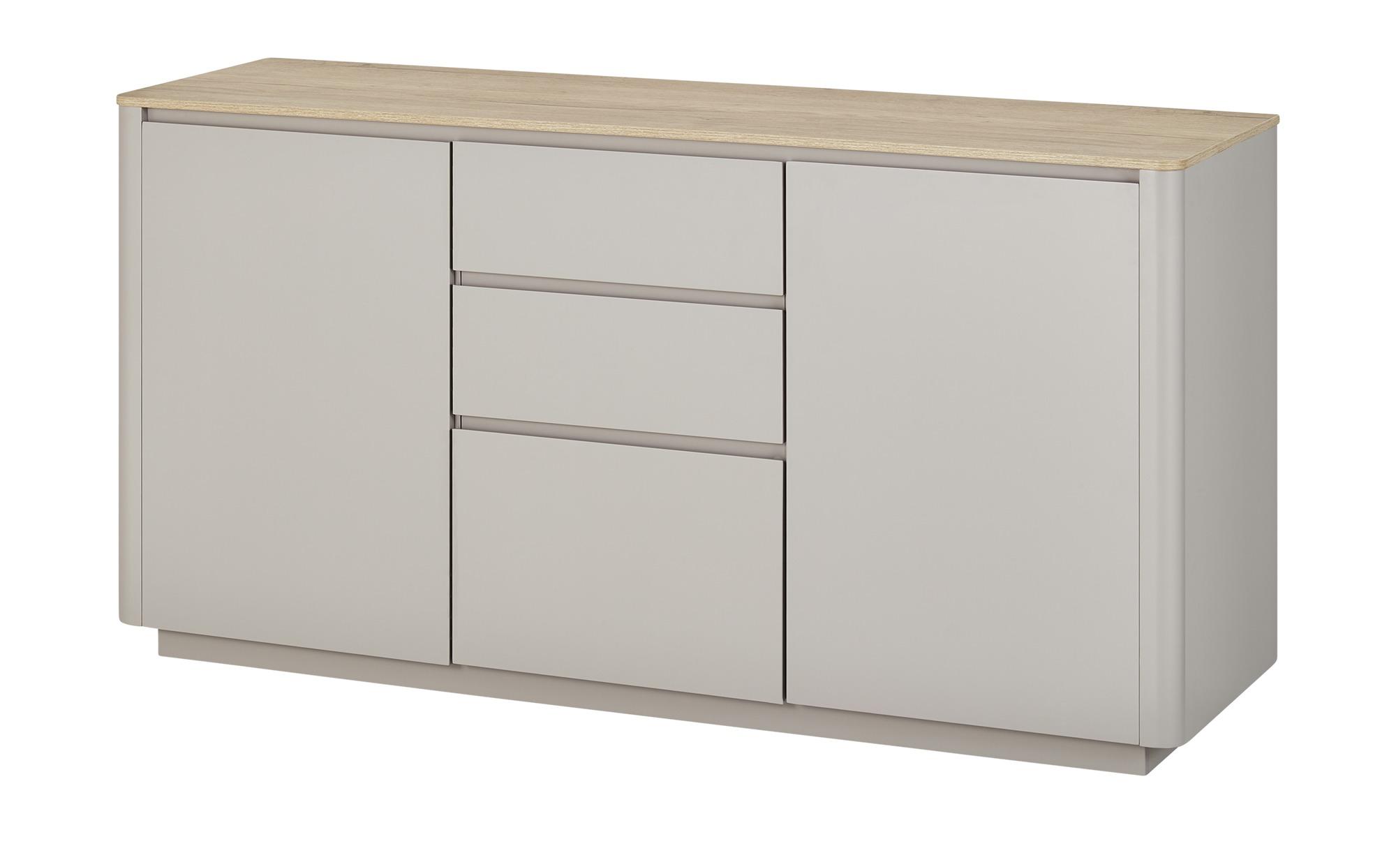 Sideboard  Arctic ¦ grau ¦ Maße (cm): B: 150 H: 77 T: 45 Kommoden & Sideboards > Sideboards - Höffner