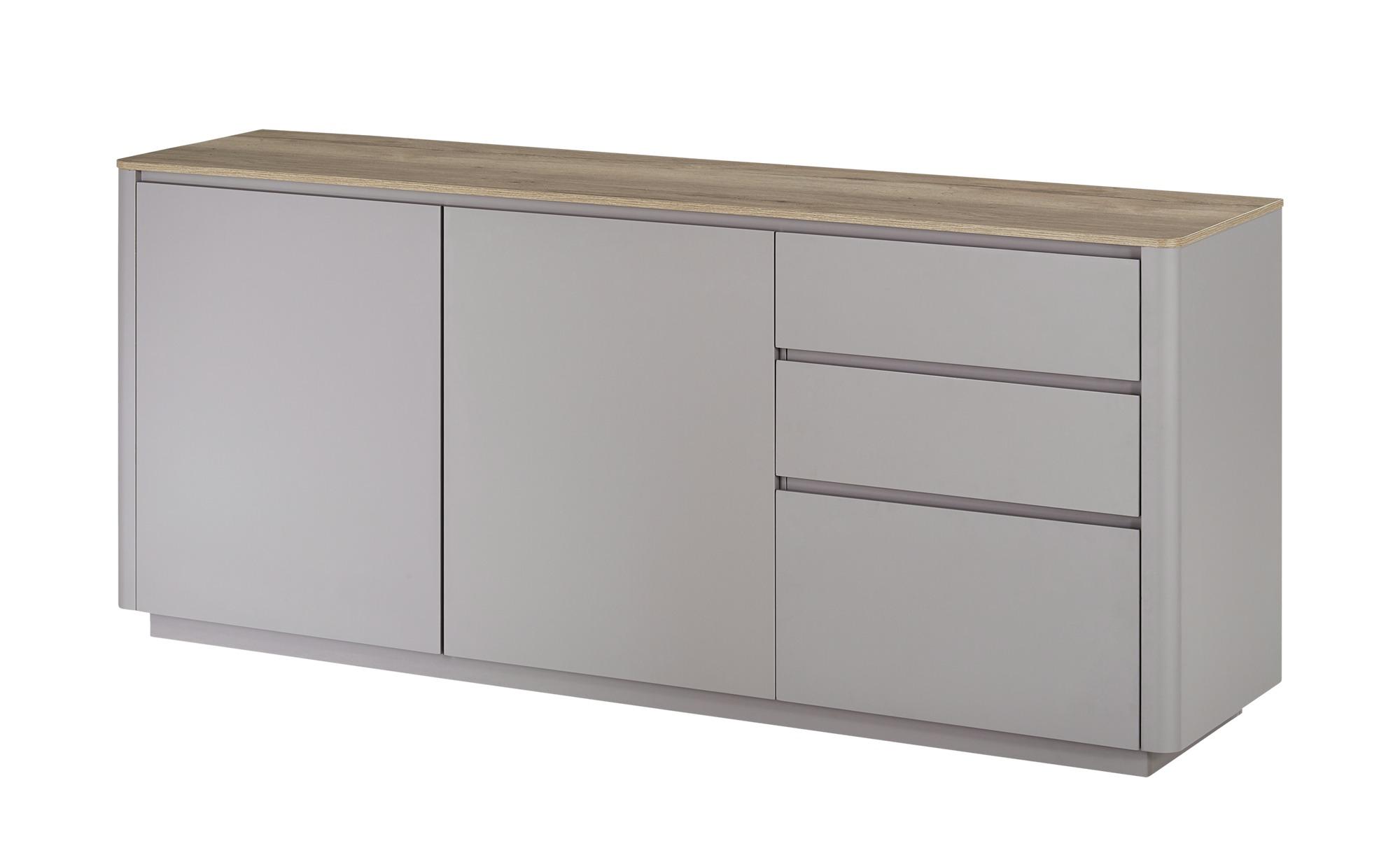 Sideboard  Arctic ¦ grau ¦ Maße (cm): B: 180 H: 77 T: 45 Kommoden & Sideboards > Sideboards - Höffner