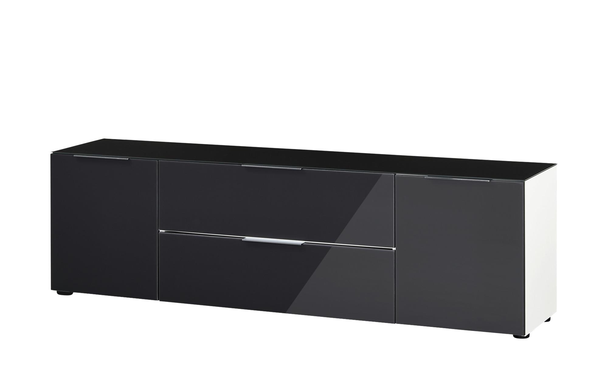 Lowboard  Vitreo ¦ grau ¦ Maße (cm): B: 180,4 H: 53,9 T: 40 TV- & Media Möbel > TV-Racks - Höffner