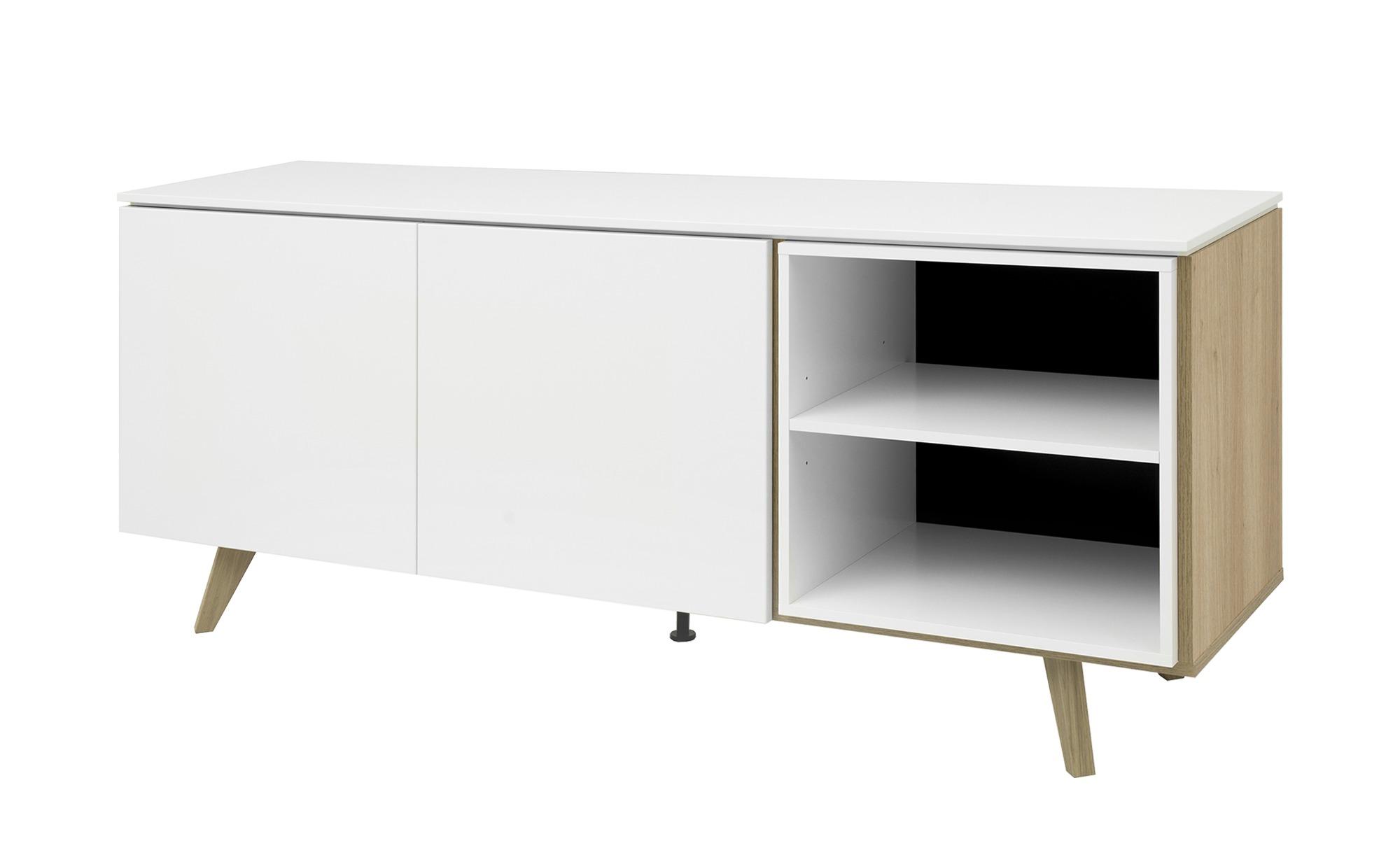 Sideboard  Uuna ¦ weiß ¦ Maße (cm): B: 180 H: 76 T: 45 Kommoden & Sideboards > Sideboards - Höffner