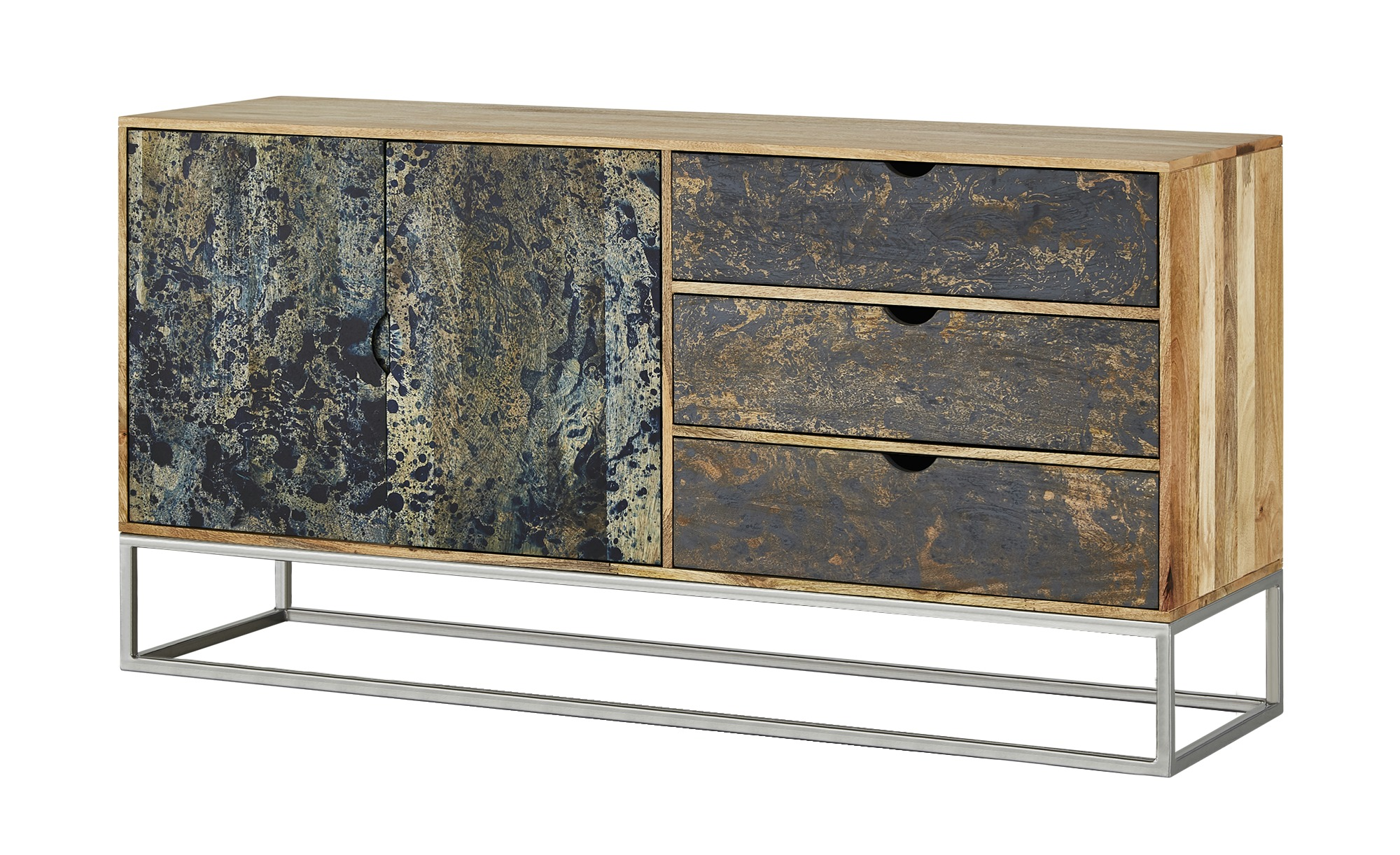 Sideboard  Florence ¦ holzfarben ¦ Maße (cm): B: 160 H: 80 T: 45 Kommoden & Sideboards > Sideboards - Höffner