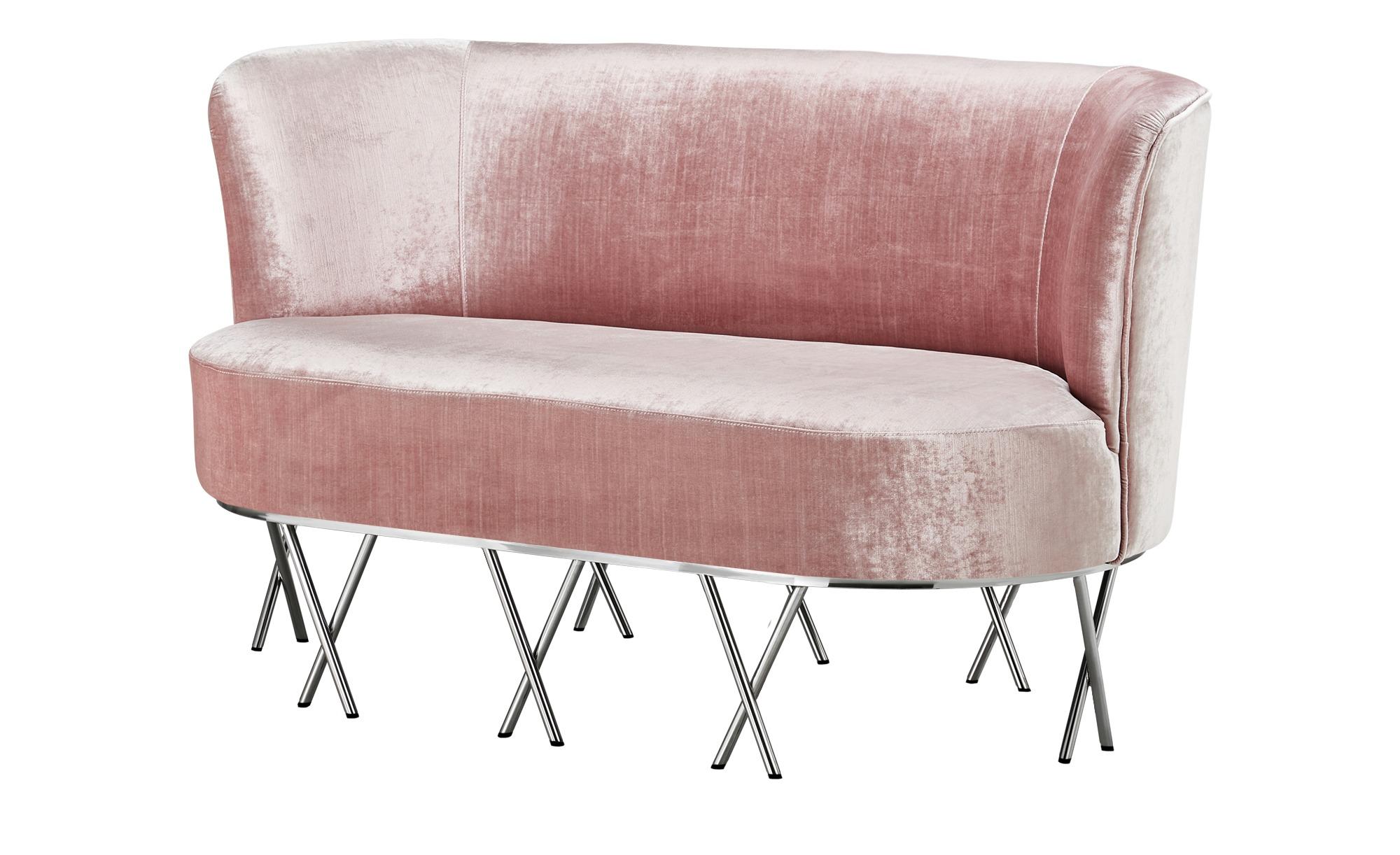 Sofa  Scarlett ¦ rosa/pink ¦ Maße (cm): B: 145 H: 72 T: 80 Polstermöbel > Sofas > 2-Sitzer - Höffner