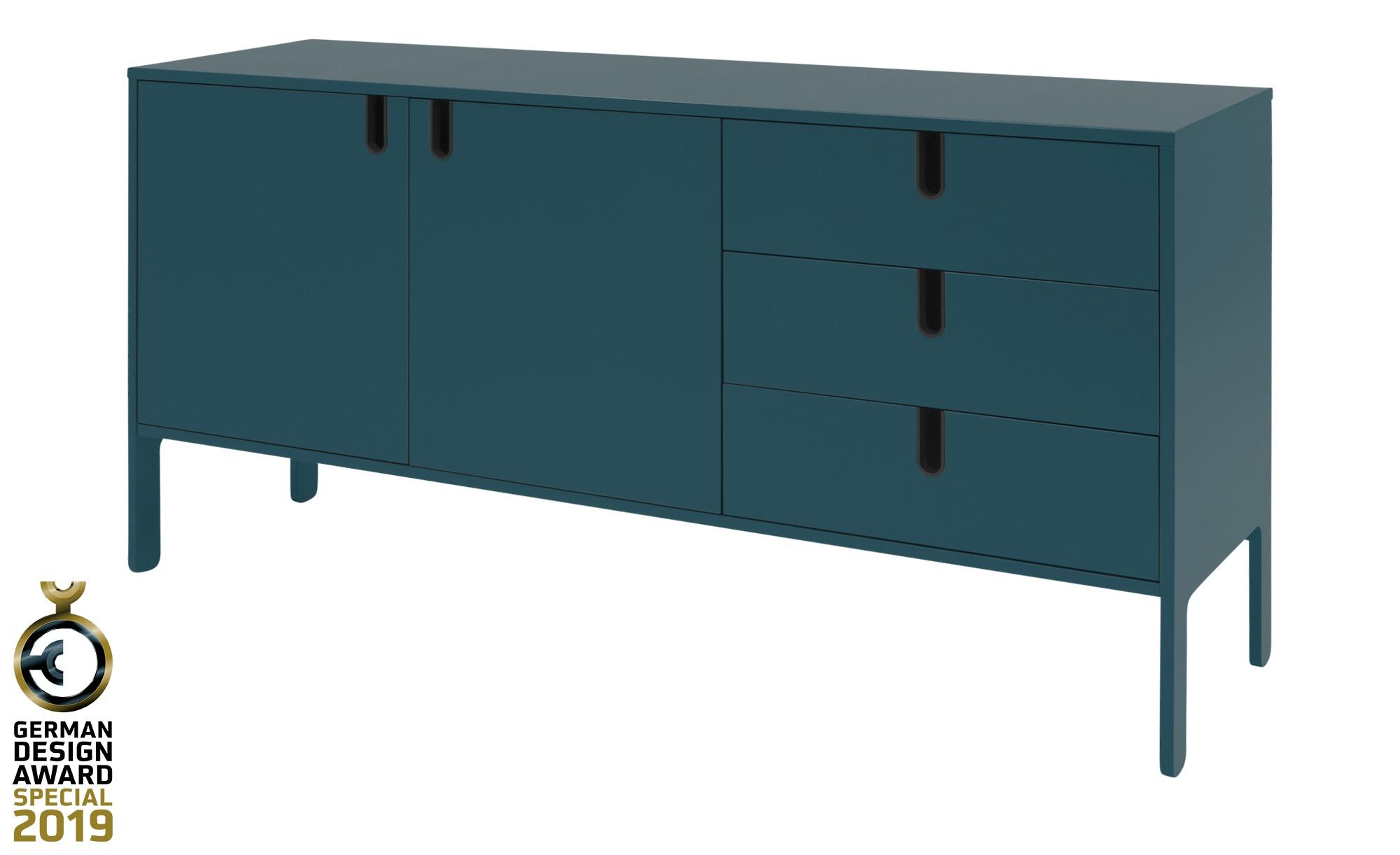 Sideboard  Uno ¦ blau ¦ Maße (cm): B: 171 H: 86 T: 46 Kommoden & Sideboards > Kommoden - Höffner