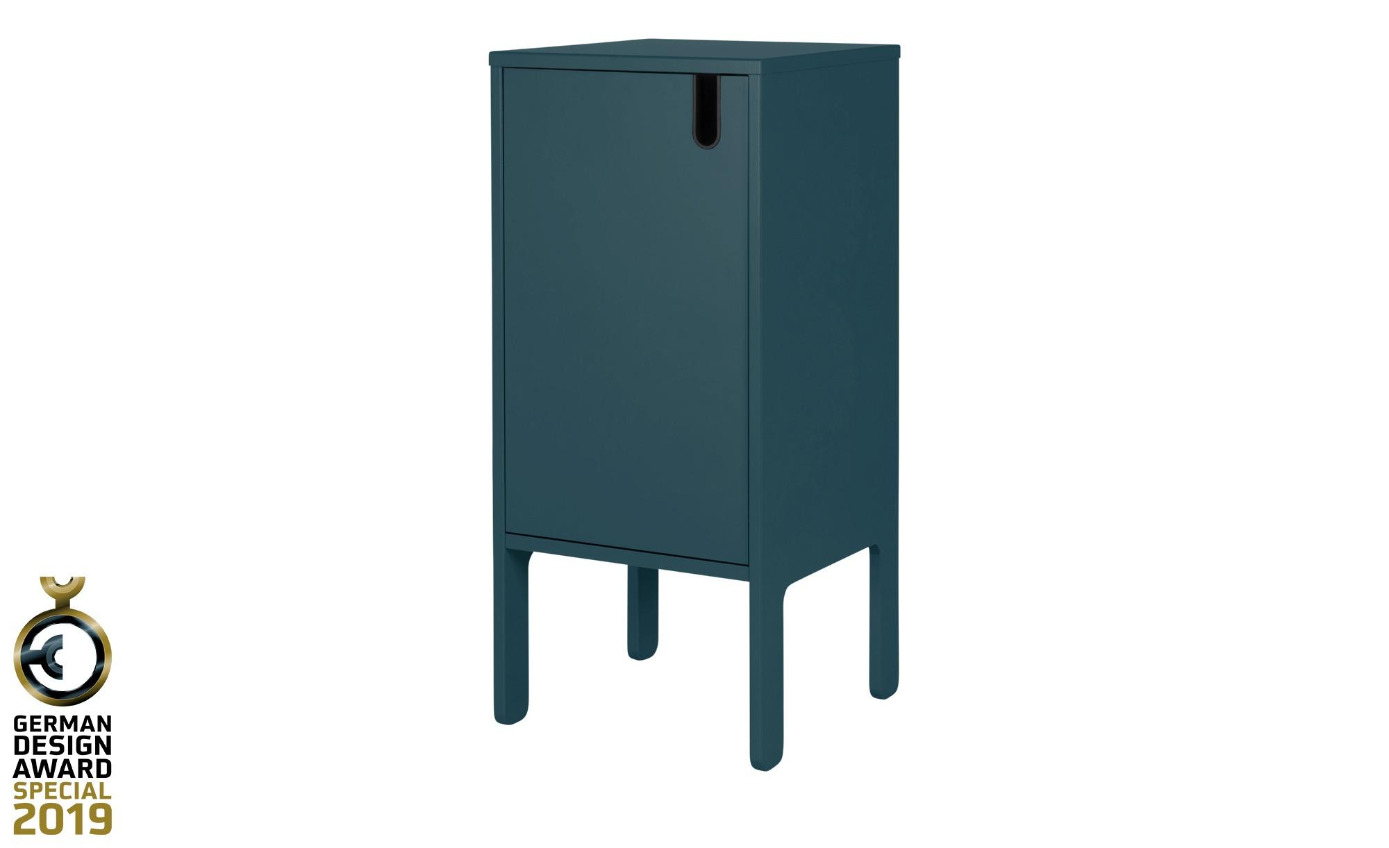 Kommode  Uno ¦ blau ¦ Maße (cm): B: 40 H: 89 T: 40 Kommoden & Sideboards > Kommoden - Höffner