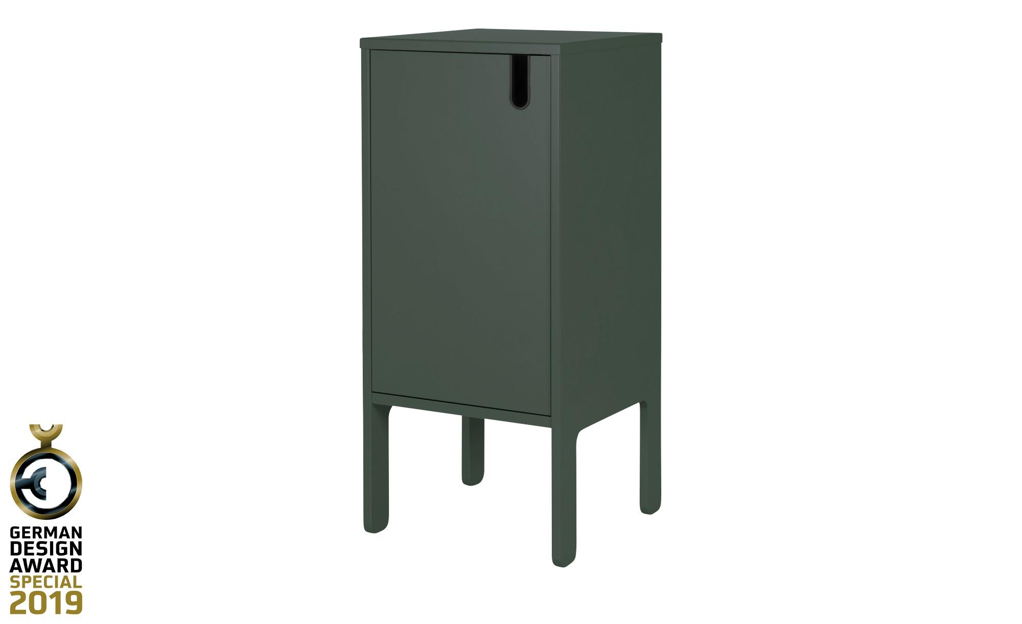 Kommode  Uno ¦ grün ¦ Maße (cm): B: 40 H: 89 T: 40 Kommoden & Sideboards > Kommoden - Höffner