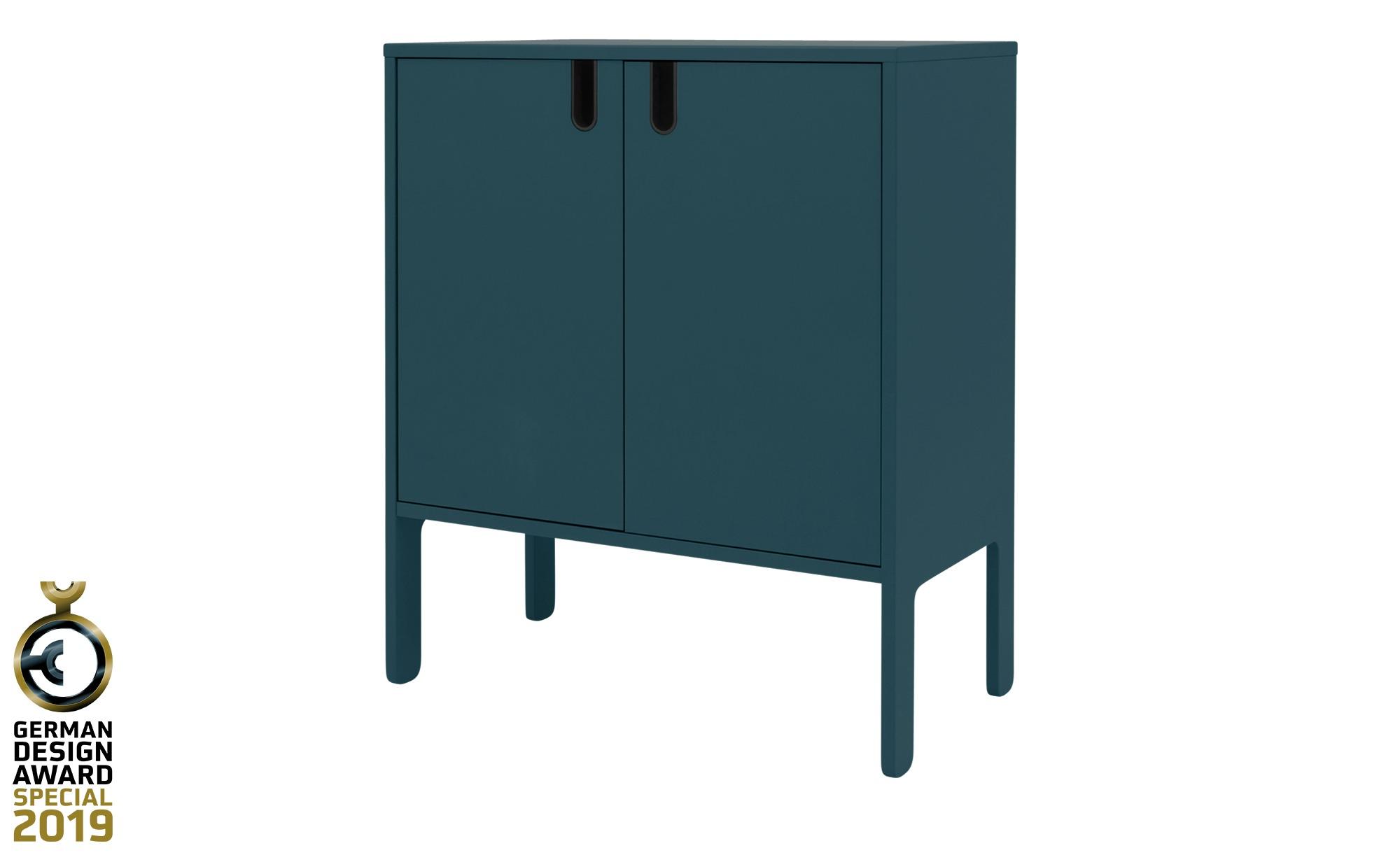 Kommode  Uno ¦ blau ¦ Maße (cm): B: 76 H: 89 T: 40 Kommoden & Sideboards > Kommoden - Höffner