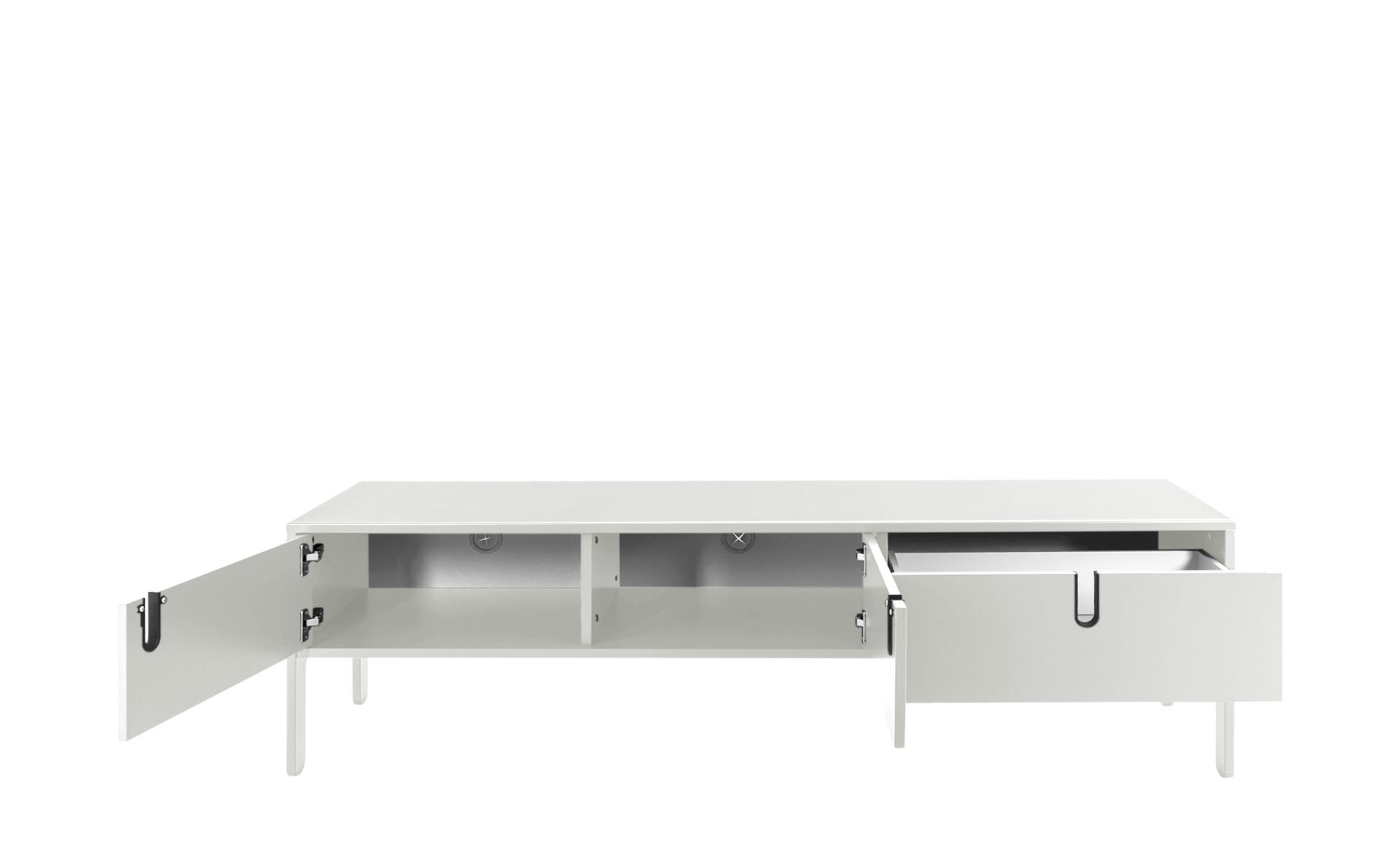 TV - Lowboard  Uno ¦ weiß ¦ Maße (cm): B: 171 H: 50 T: 46 TV- & Media Möbel > TV-Racks - Höffner