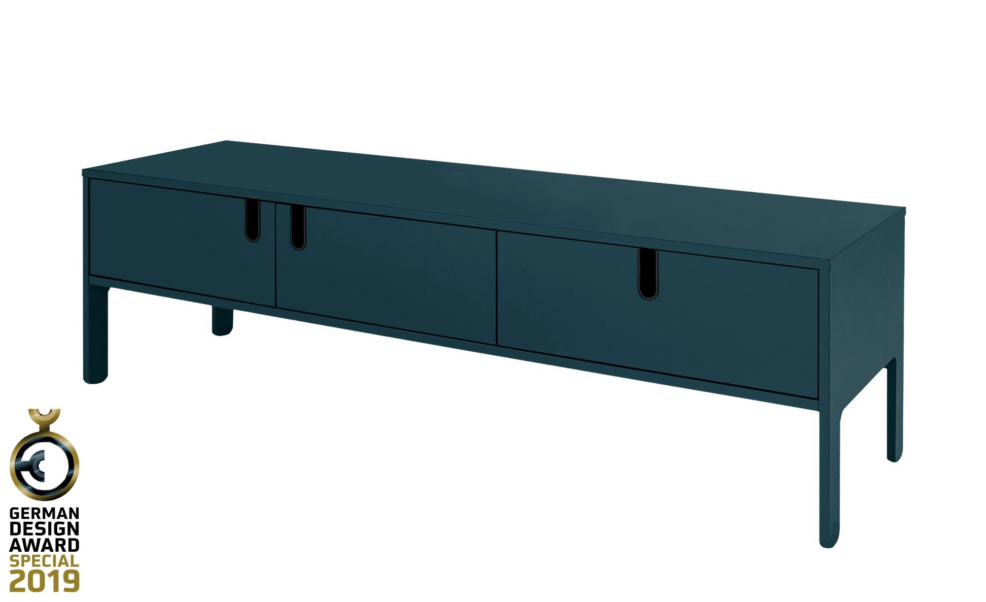 *TV-Lowboard  Uno ¦ blau ¦ Maße (cm): B: 171 H: 50 T: 46 TV- & Media Möbel > TV-Racks – Höffner*