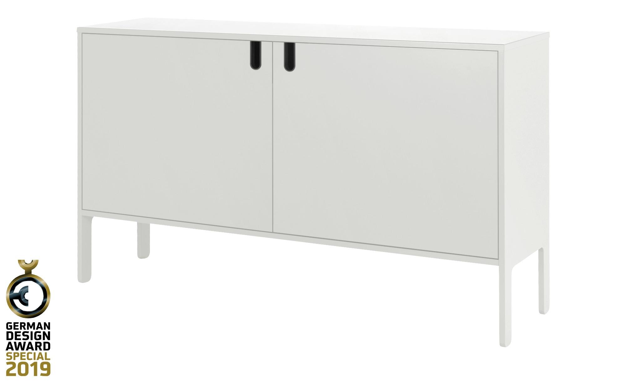 Sideboard  Uno ¦ weiß ¦ Maße (cm): B: 148 H: 89 T: 40 Kommoden & Sideboards > Kommoden - Höffner