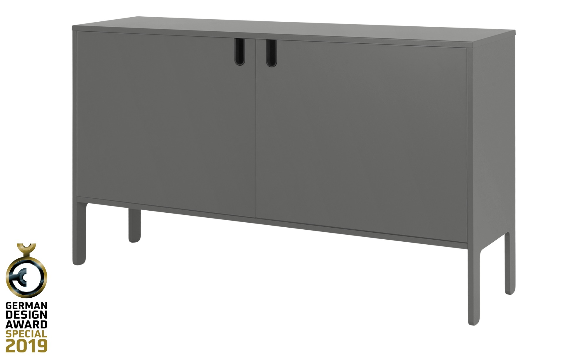 Sideboard  Uno ¦ grau ¦ Maße (cm): B: 148 H: 89 T: 40 Kommoden & Sideboards > Kommoden - Höffner