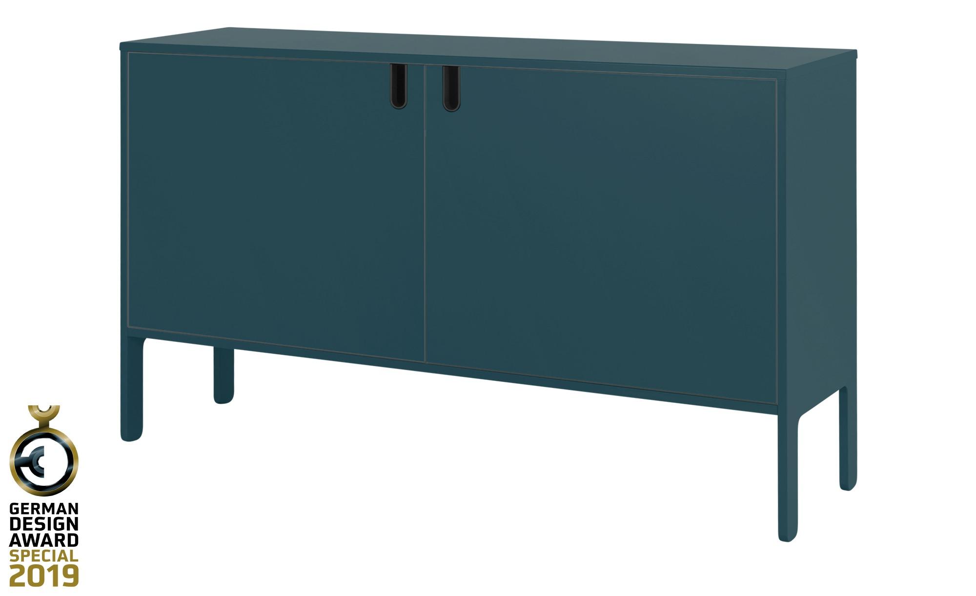 Sideboard  Uno ¦ blau ¦ Maße (cm): B: 148 H: 89 T: 40 Kommoden & Sideboards > Kommoden - Höffner