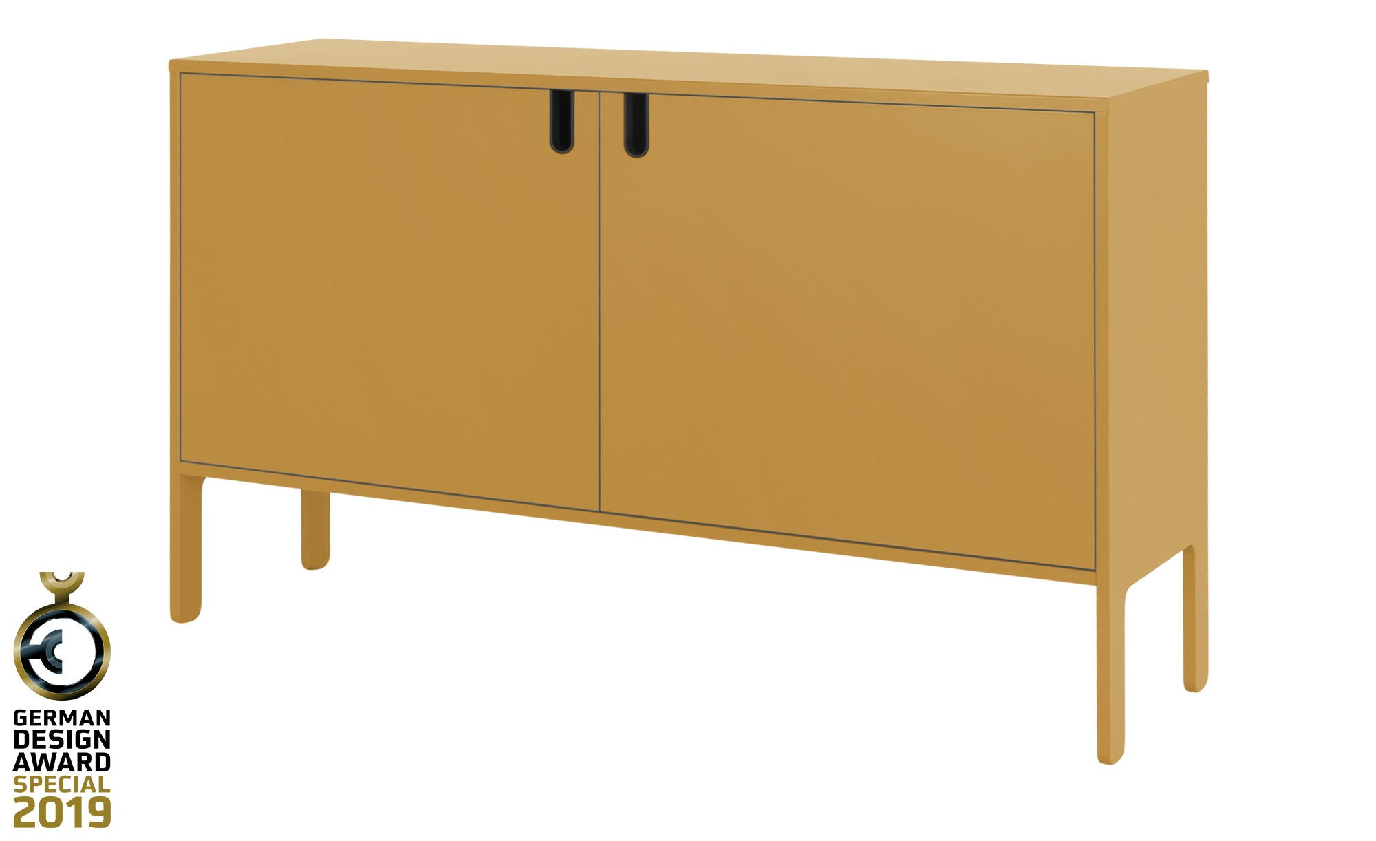 Sideboard  Uno ¦ gelb ¦ Maße (cm): B: 148 H: 89 T: 40 Kommoden & Sideboards > Kommoden - Höffner