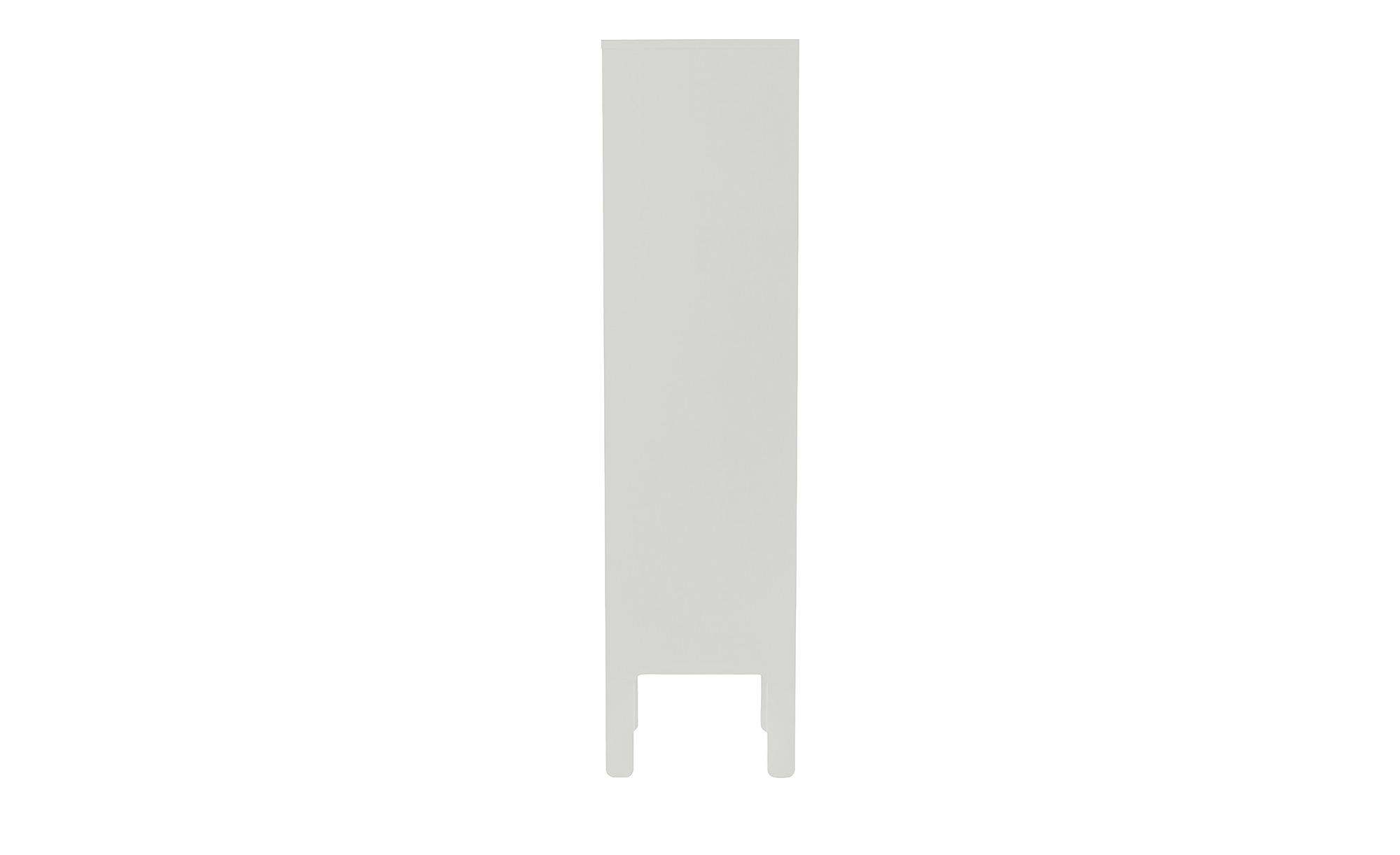 Highboard  Uno ¦ weiß ¦ Maße (cm): B: 40 H: 152 T: 40 Kommoden & Sideboards > Kommoden - Höffner