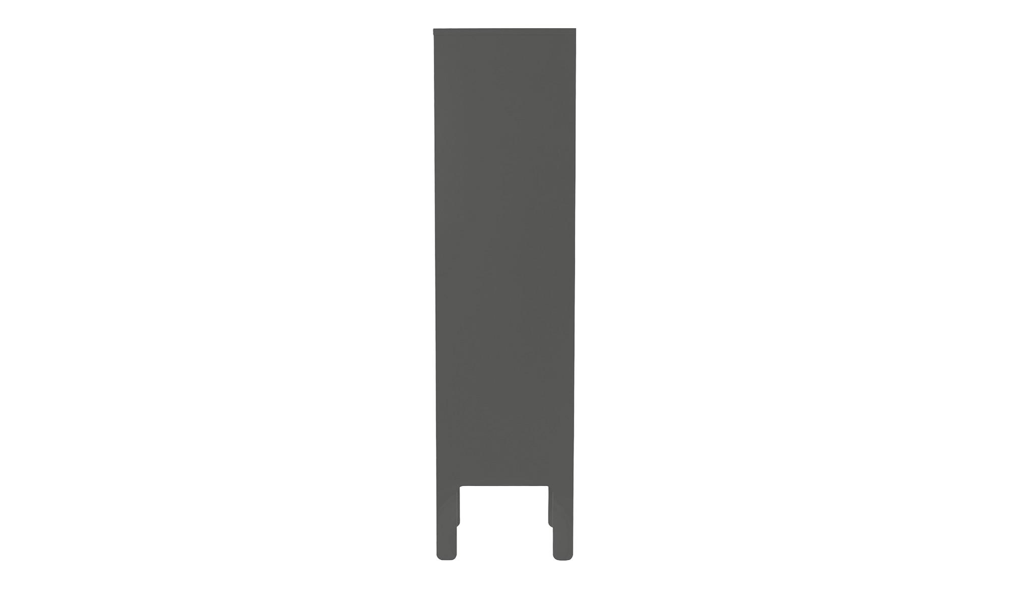 Highboard  Uno ¦ grau ¦ Maße (cm): B: 40 H: 152 T: 40 Kommoden & Sideboards > Kommoden - Höffner