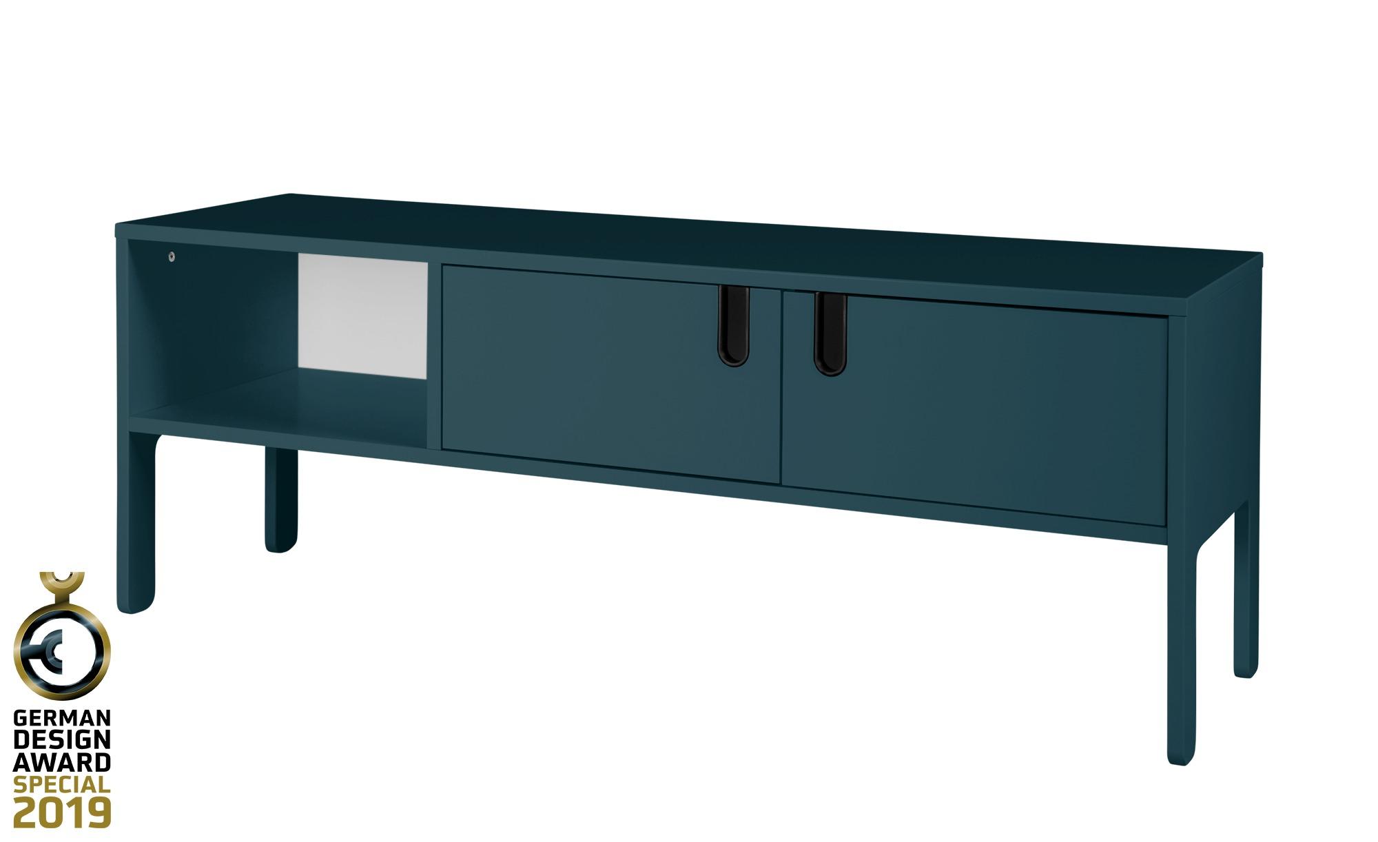 TV-Lowboard  Uno ¦ blau ¦ Maße (cm): B: 137 H: 50 T: 40 TV- & Media Möbel > TV-Racks - Höffner