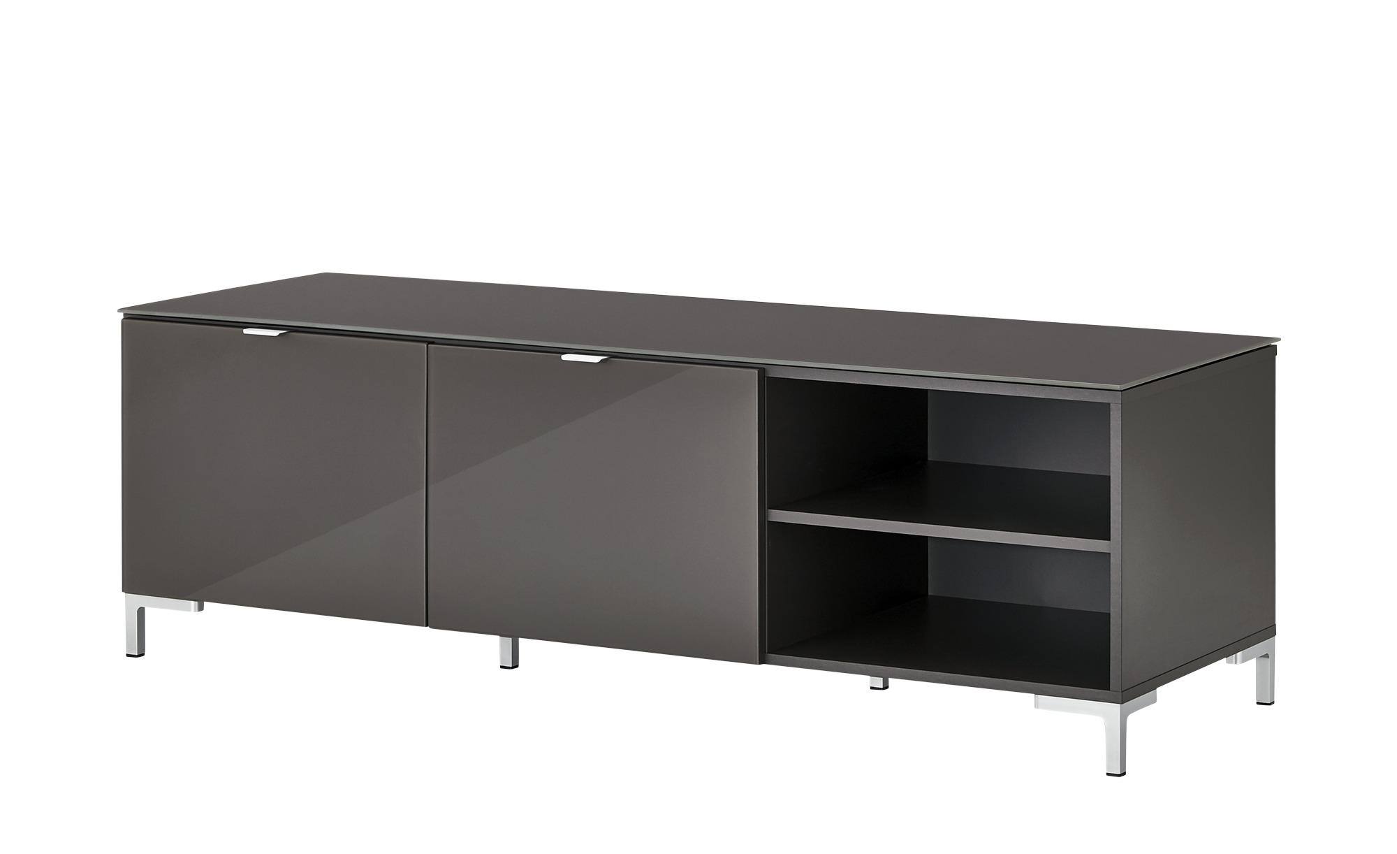TV- Lowboard  Besano ¦ grau ¦ Maße (cm): B: 150 H: 48,5 T: 52,5 TV- & Media Möbel > TV-Racks - Höffner