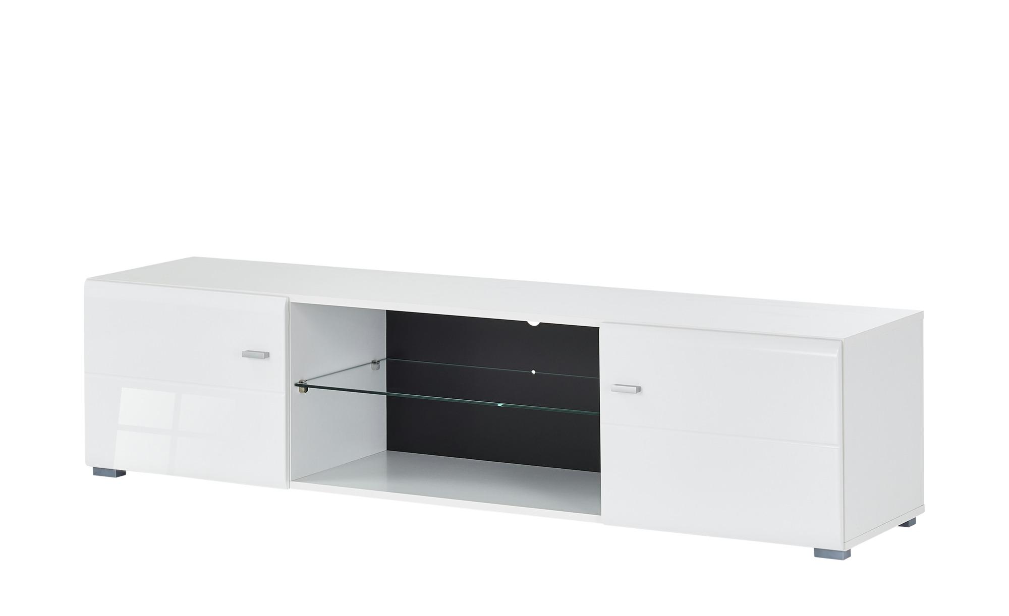 TV- Lowboard  Forino ¦ weiß ¦ Maße (cm): B: 170 H: 41,5 T: 41,5 TV- & Media Möbel > TV-Racks - Höffner