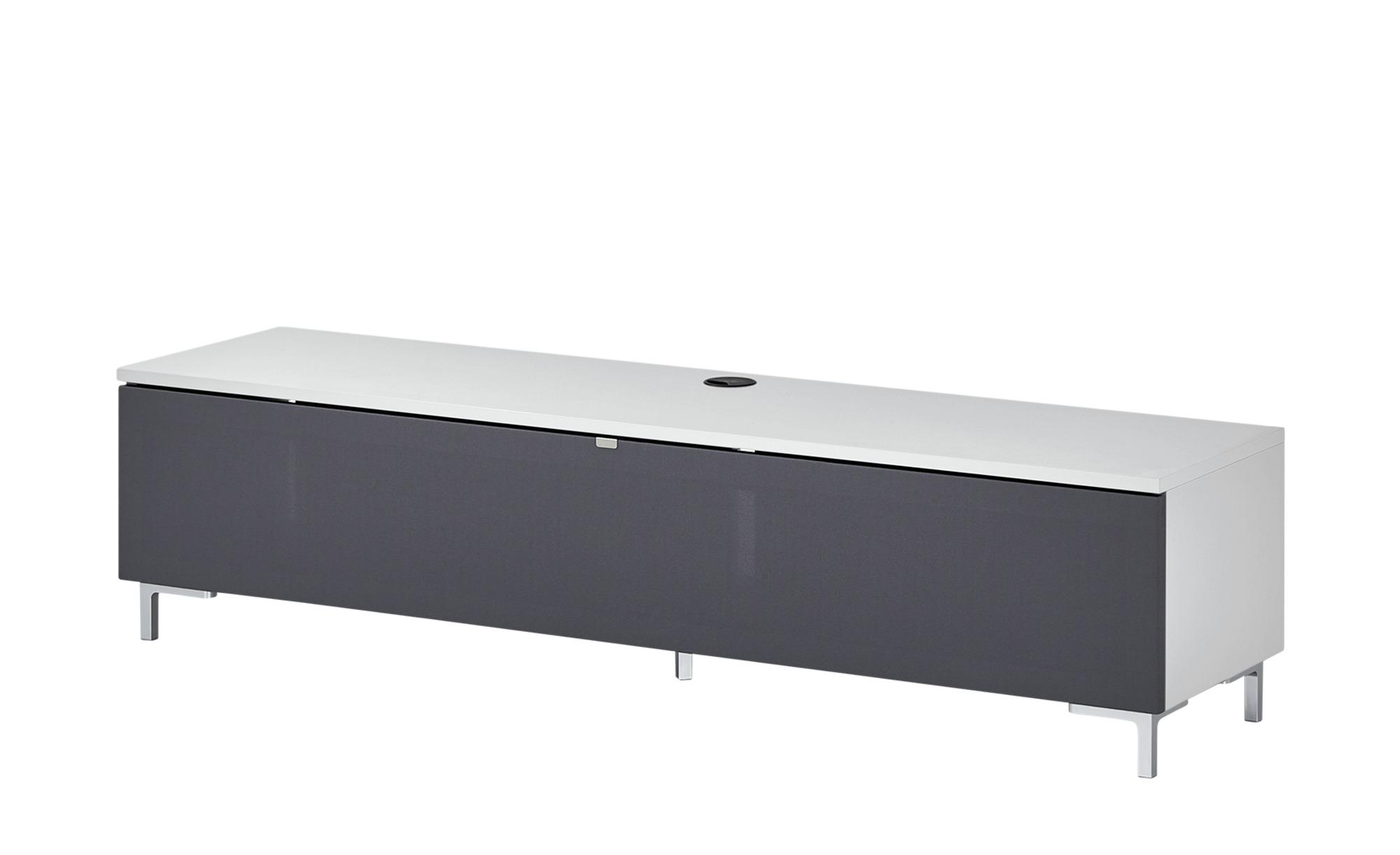 TV-Lowboard  BronX ¦ weiß ¦ Maße (cm): B: 160 H: 39 T: 40 TV- & Media Möbel > TV-Racks - Höffner