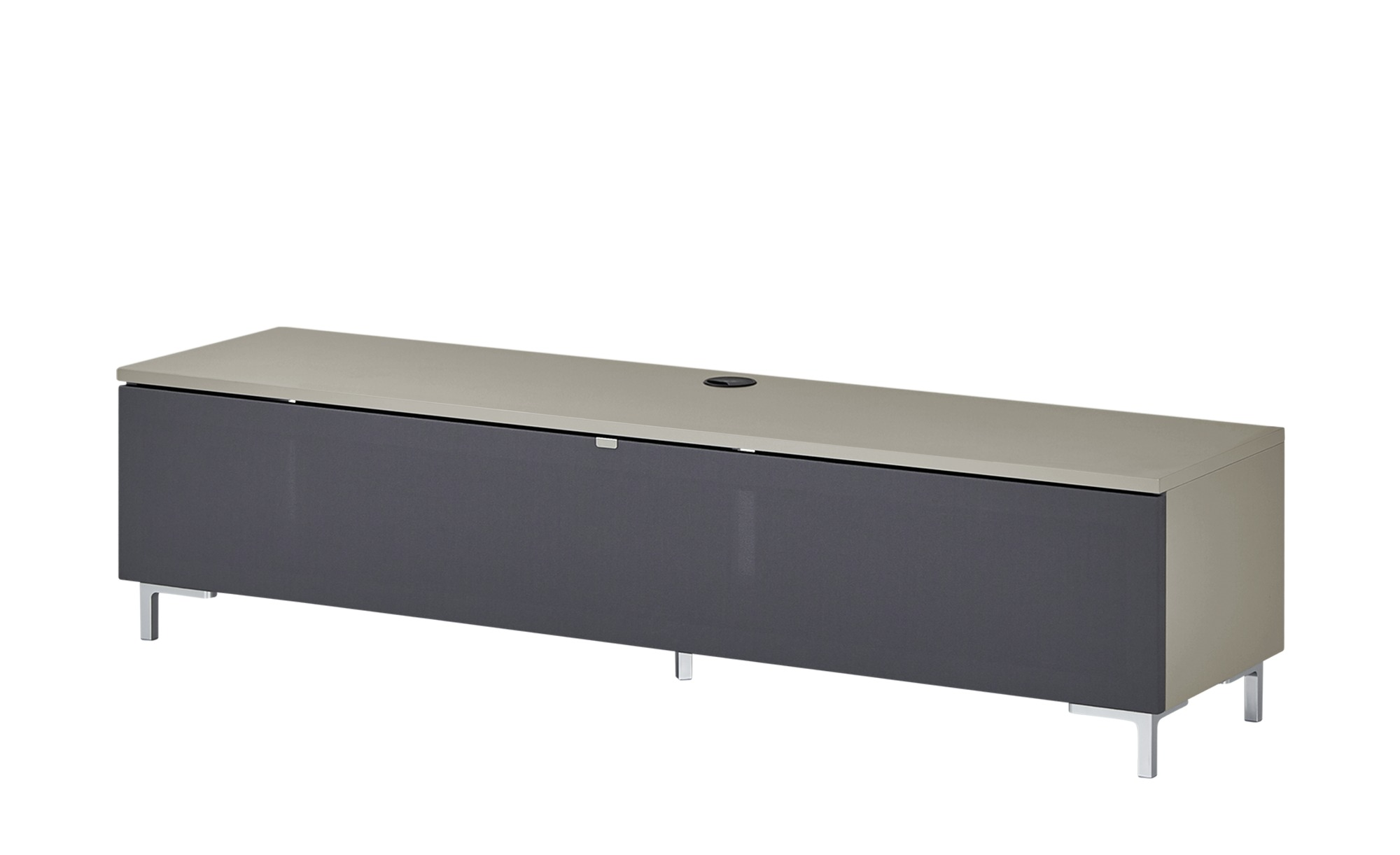 TV-Lowboard  BronX ¦ beige ¦ Maße (cm): B: 160 H: 39 T: 40 TV- & Media Möbel > TV-Racks - Höffner