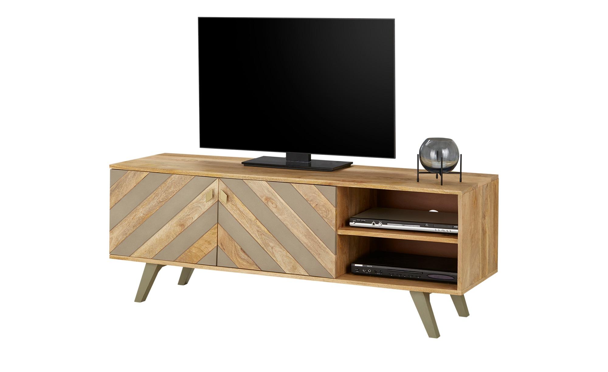 TV- Lowboard  Rho ¦ holzfarben ¦ Maße (cm): B: 147 H: 55 T: 35 TV- & Media Möbel > TV-Racks - Höffner