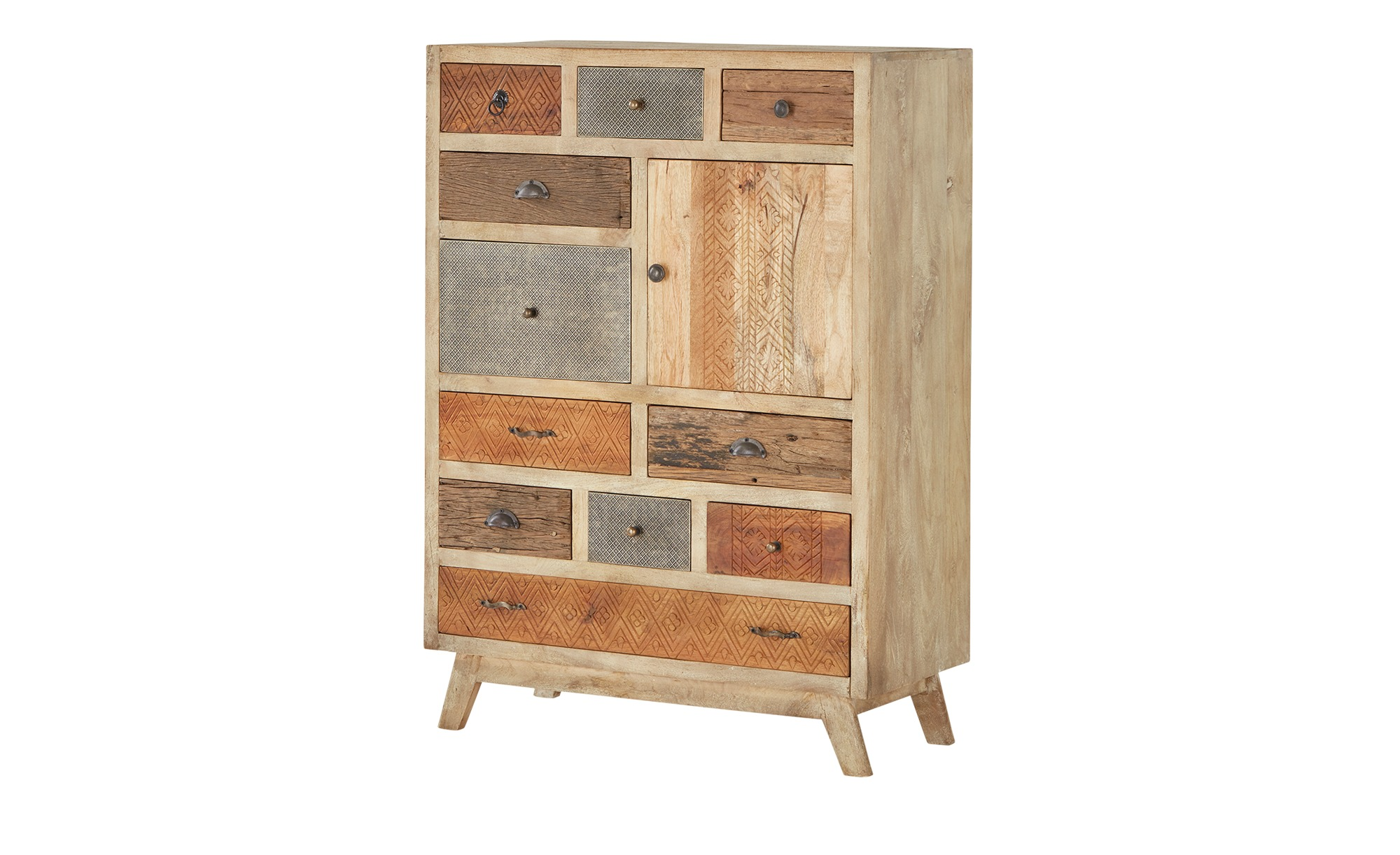 Highboard  Kona ¦ Maße (cm): B: 90 H: 125 T: 40 Kommoden & Sideboards > Highboards - Höffner