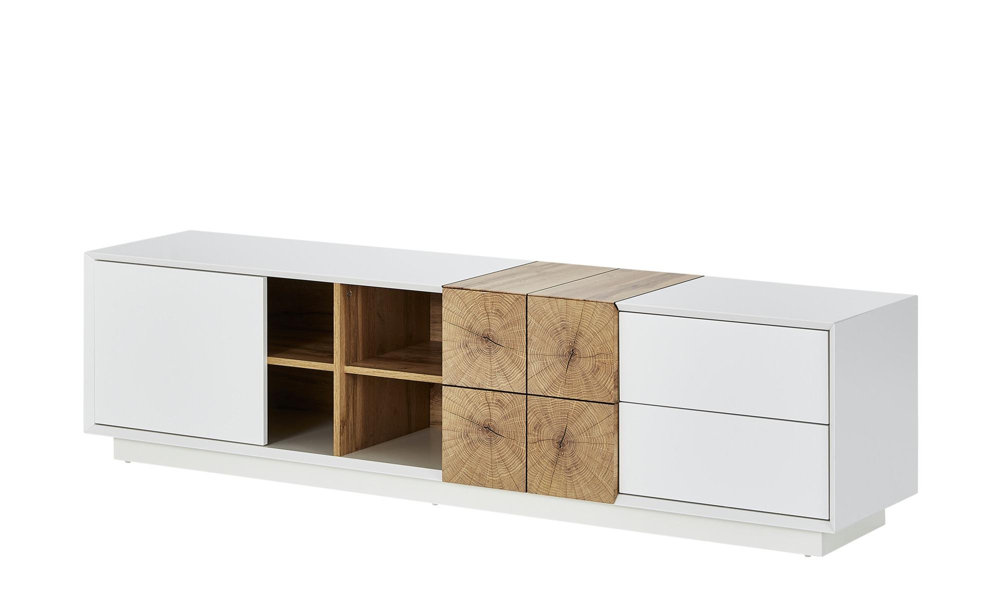 TV-Lowboard  Menaggio ¦ weiß ¦ Maße (cm): B: 180 H: 45 T: 40 TV- & Media Möbel > TV-Racks - Höffner