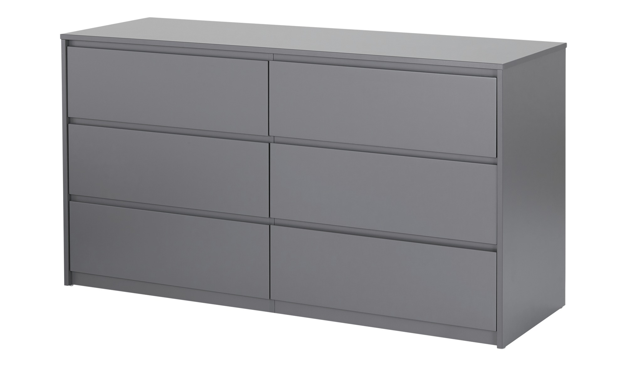 smart Kommode  Ben ¦ grau ¦ Maße (cm): B: 140 H: 75,5 T: 48 Kommoden & Sideboards > Sideboards - Höffner
