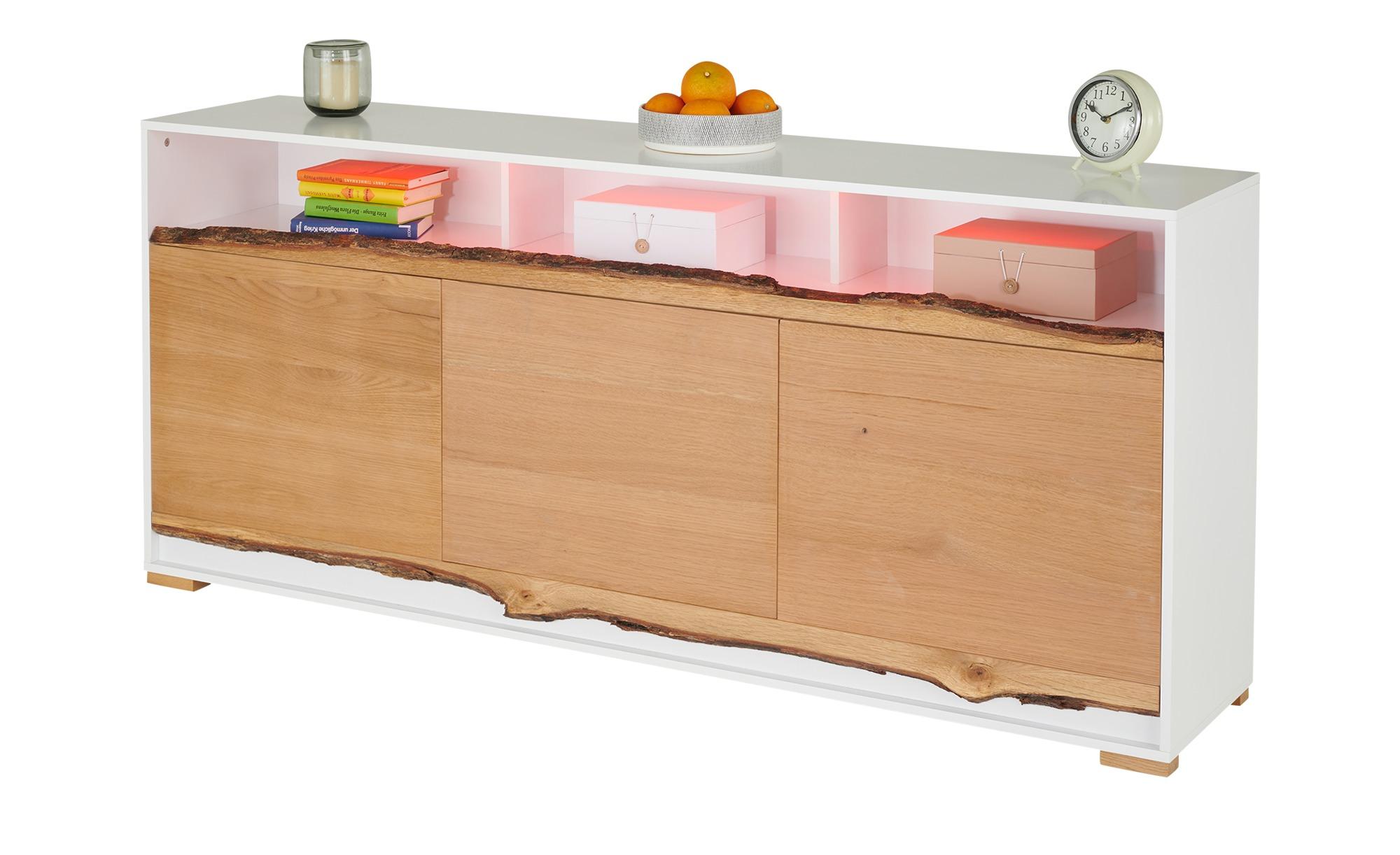 Sideboard  Empoli ¦ holzfarben ¦ Maße (cm): B: 180 H: 80 T: 40 Kommoden & Sideboards > Kommoden - Höffner