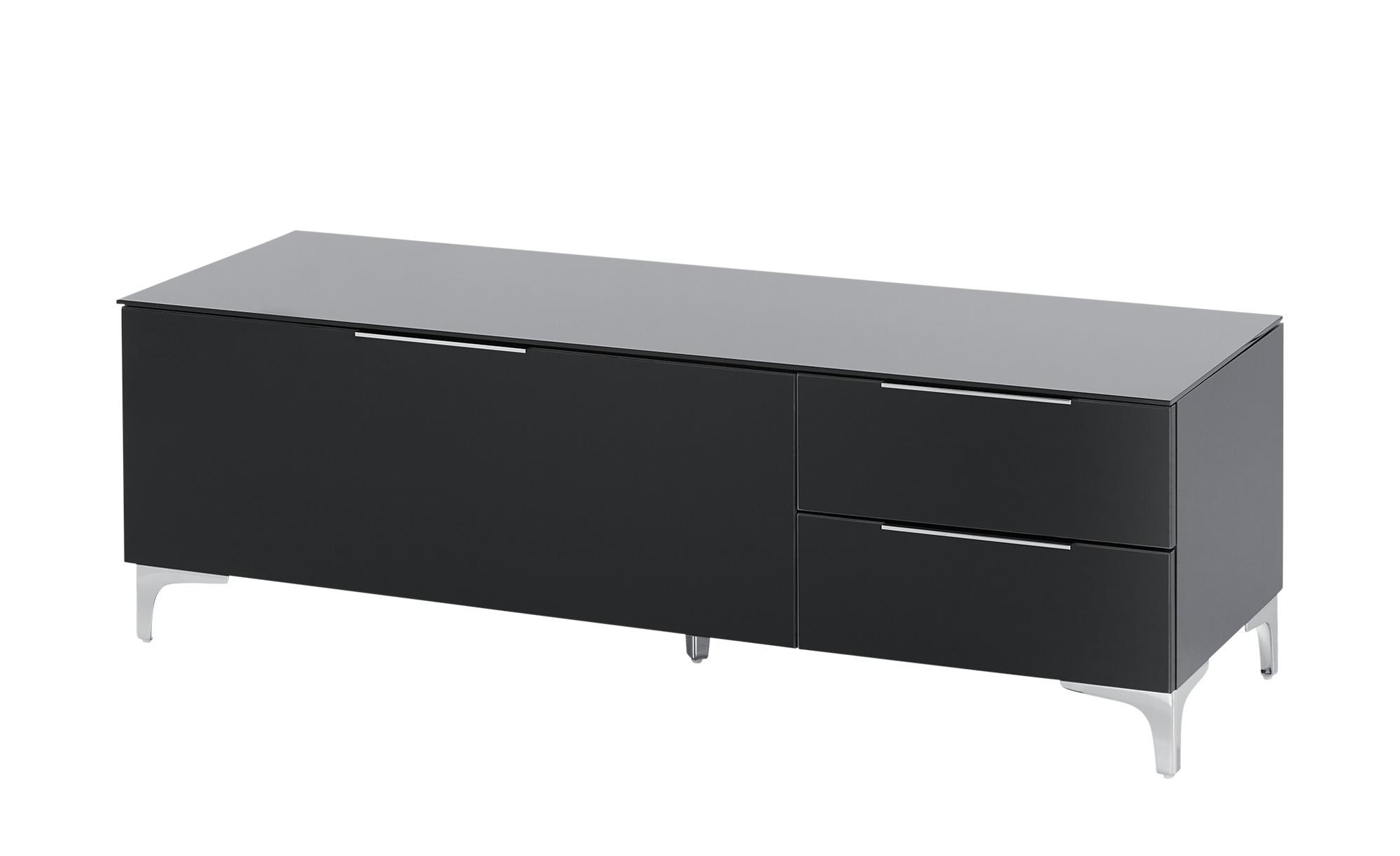 Lowboard  Mendig II ¦ schwarz ¦ Maße (cm): B: 135 H: 44 T: 46 TV- & Media Möbel > TV-Racks - Höffner