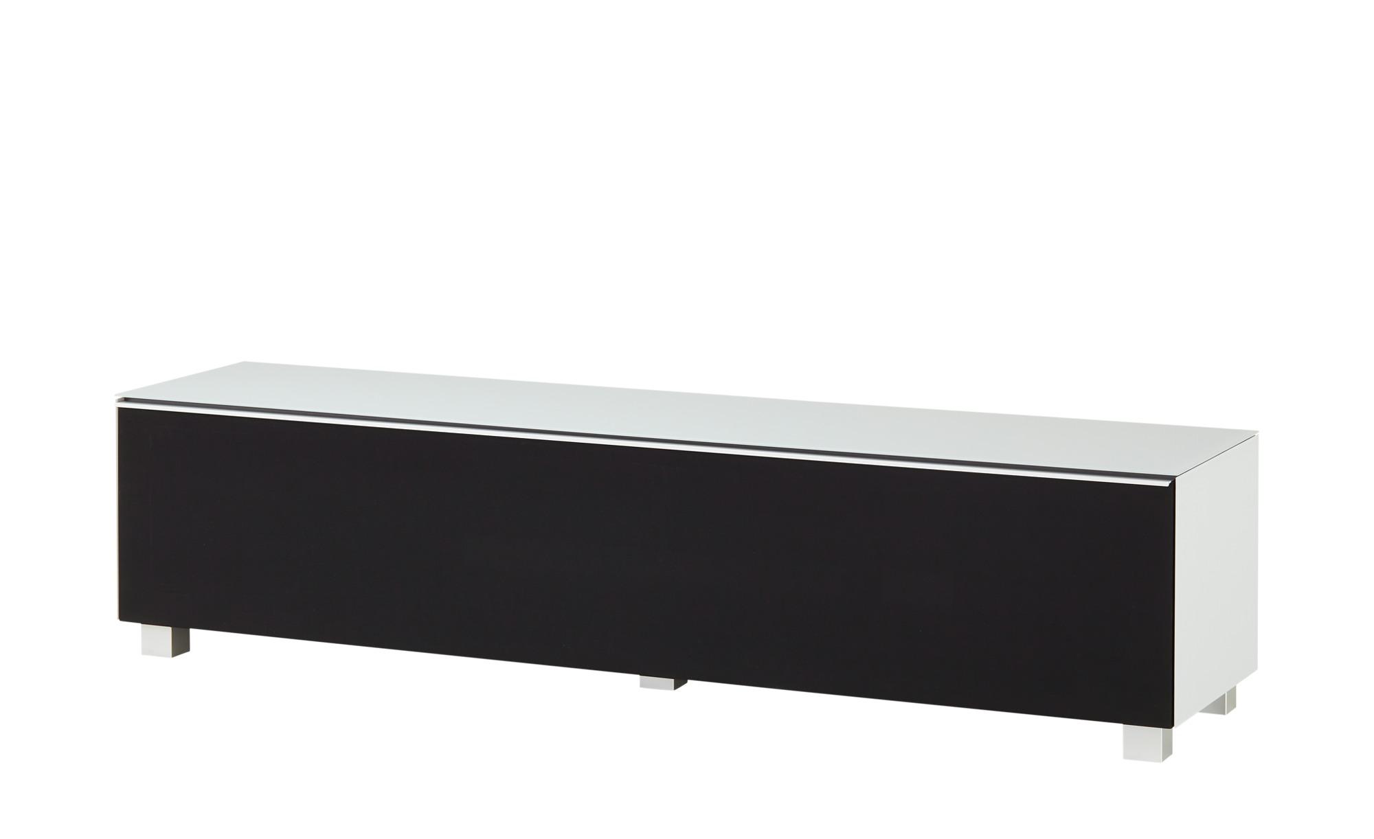 Lowboard  Soundbase L ¦ grau ¦ Maße (cm): B: 180 H: 43 T: 42 Kommoden & Sideboards > Lowboards - Höffner