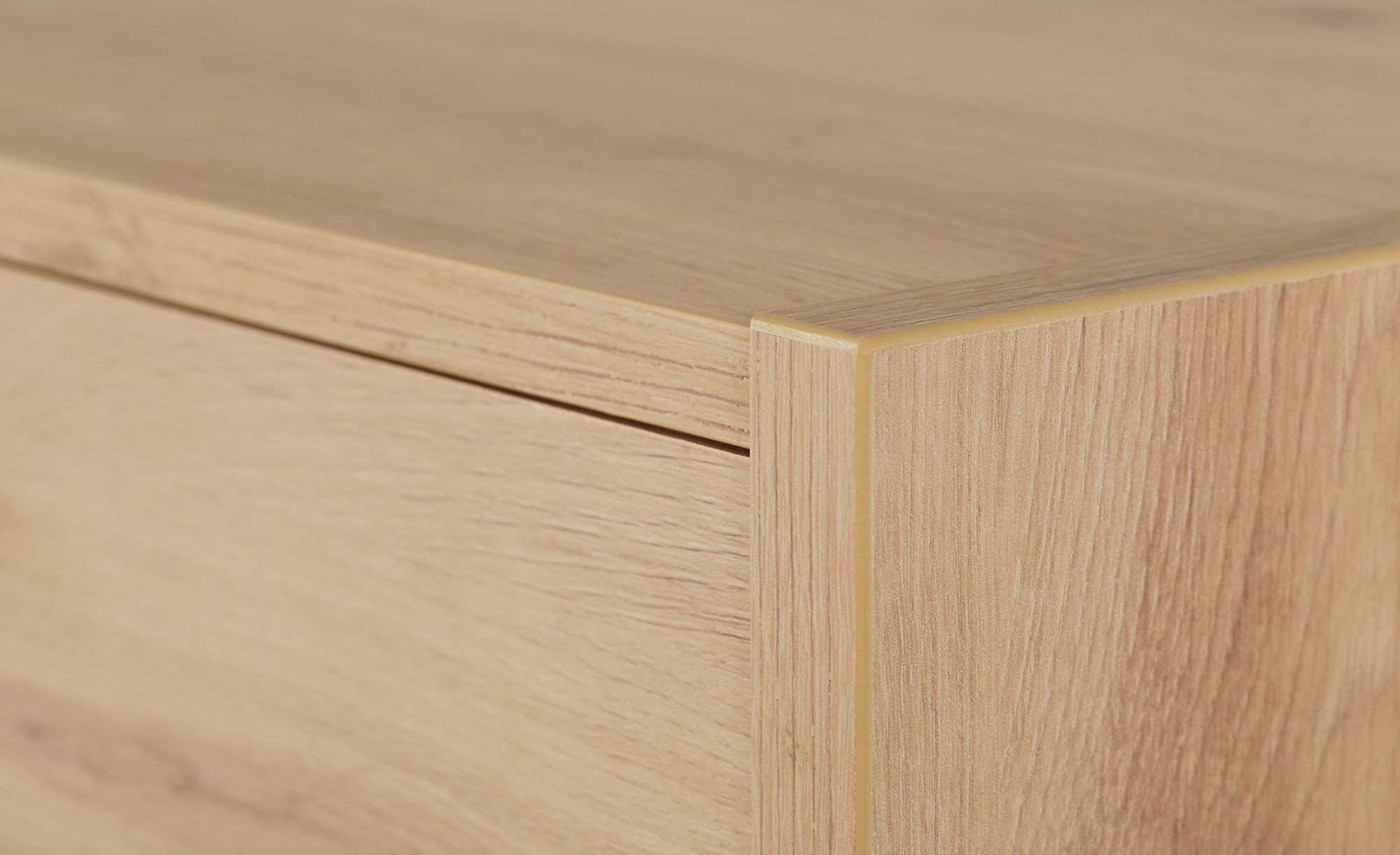 Sideboard  Nisio ¦ holzfarben ¦ Maße (cm): B: 153 H: 80,5 T: 35 Kommoden & Sideboards > Kommoden - Höffner