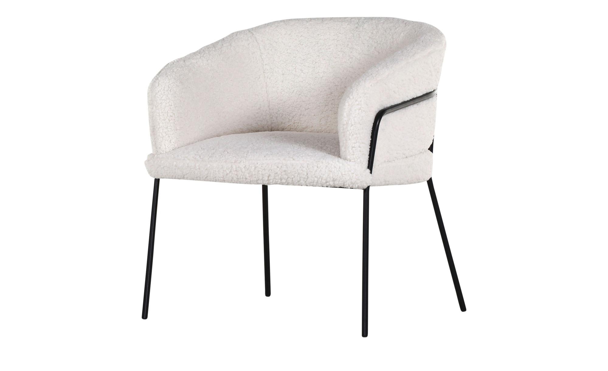 Schalenstuhl   Shepherd ¦ weiß Stühle > Küchenstühle > Küchenstühle mit Armlehnen - Höffner