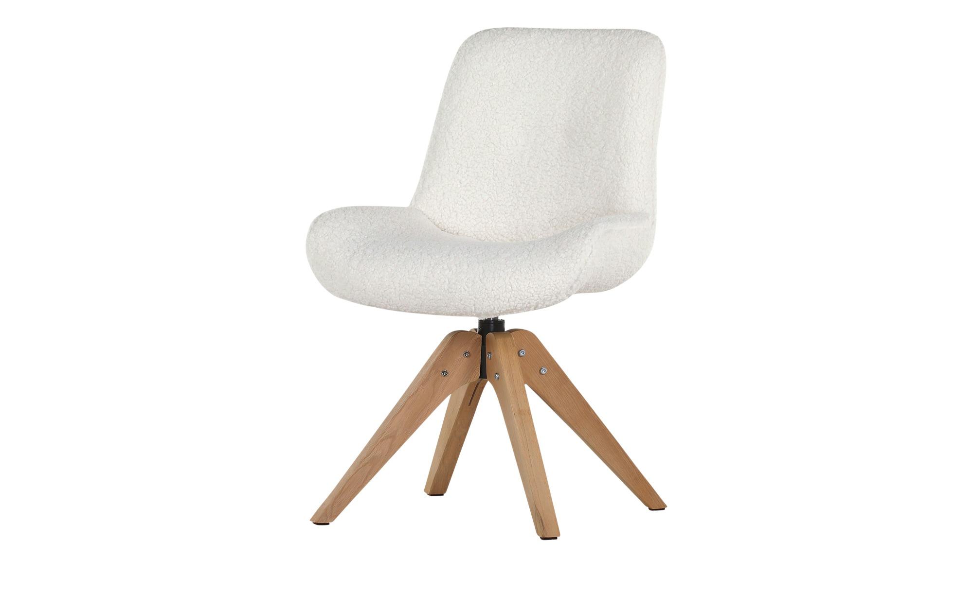 Drehsessel   Cotton ¦ weiß Stühle > Küchenstühle > Küchenstühle mit Armlehnen - Höffner