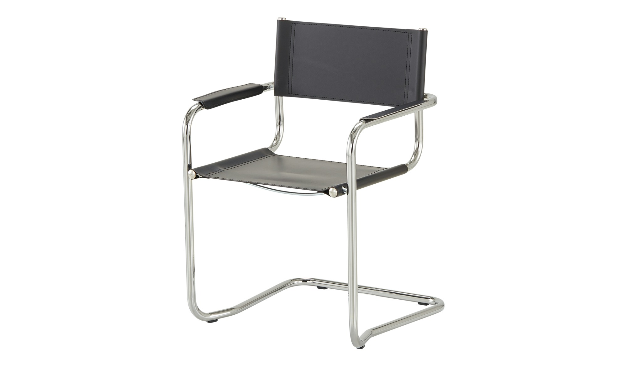 Schwingstuhl  Maik ¦ schwarz Stühle > Freischwinger - Höffner