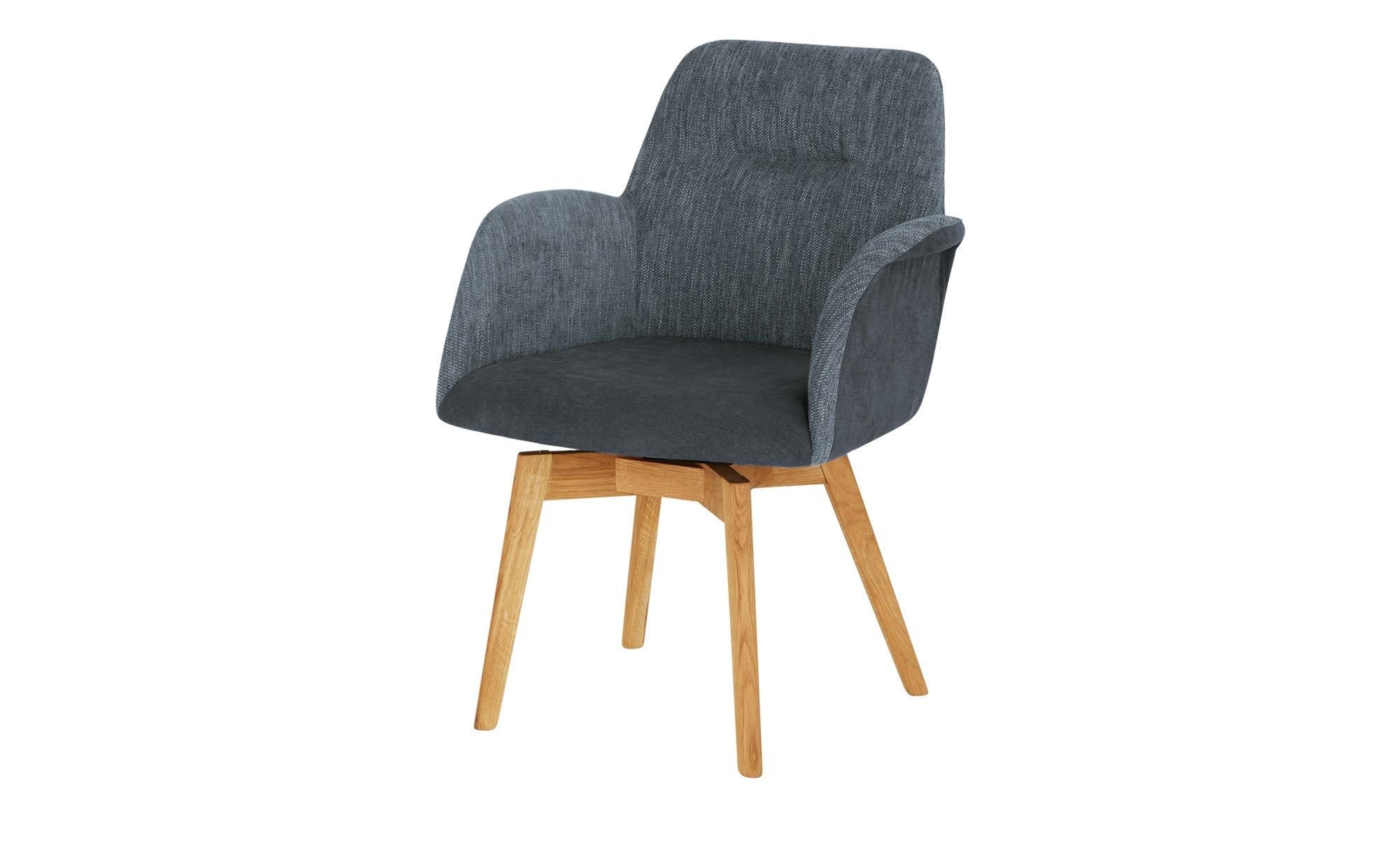Woodford Polstersessel  Melba ¦ blau ¦ Maße (cm): B: 66 H: 88 T: 70 Stühle > Esszimmerstühle > Esszimmerstühle mit Armlehnen - Höffner