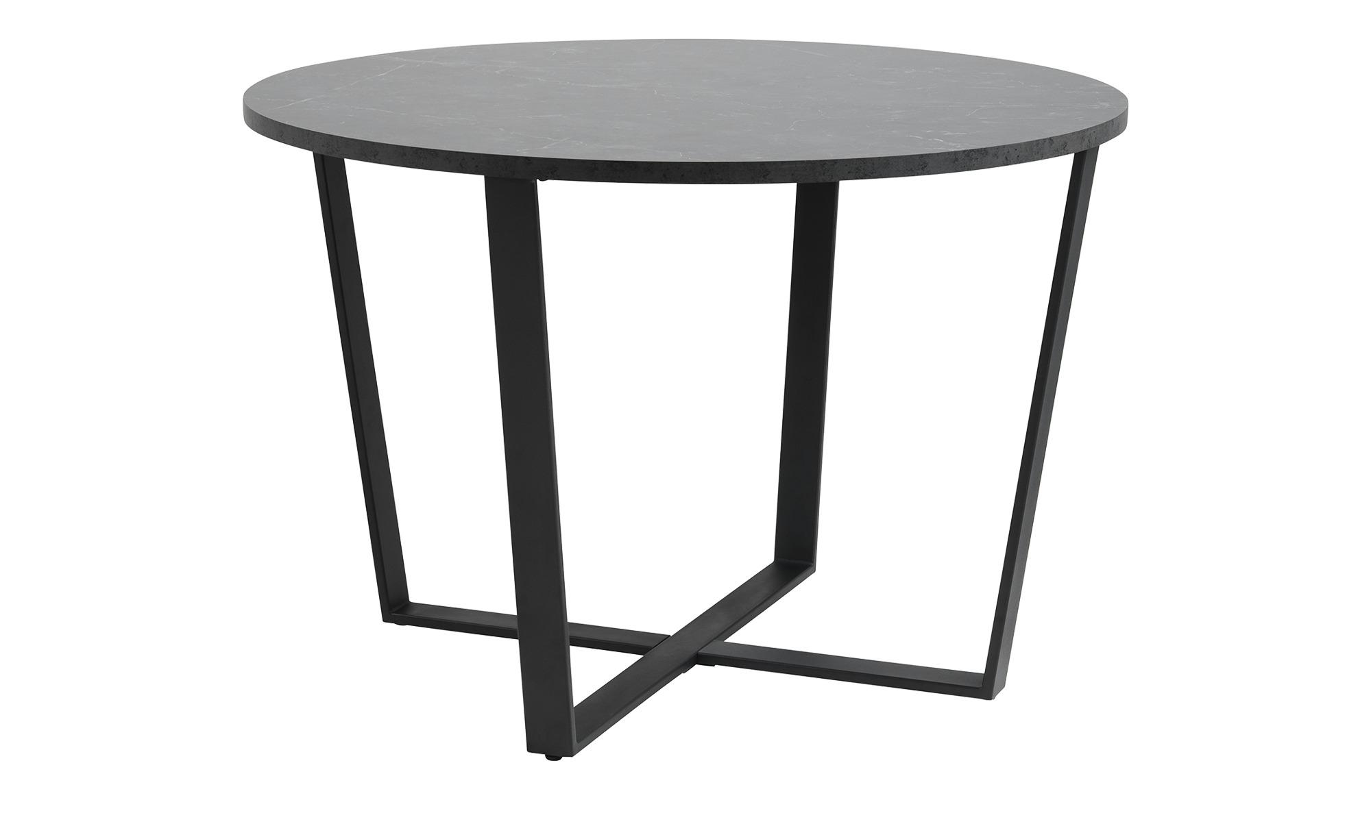 Esstisch  Adrian ¦ schwarz ¦ Maße (cm): H: 75 Ø: 110 Tische > Esstische > Esstische rund - Höffner