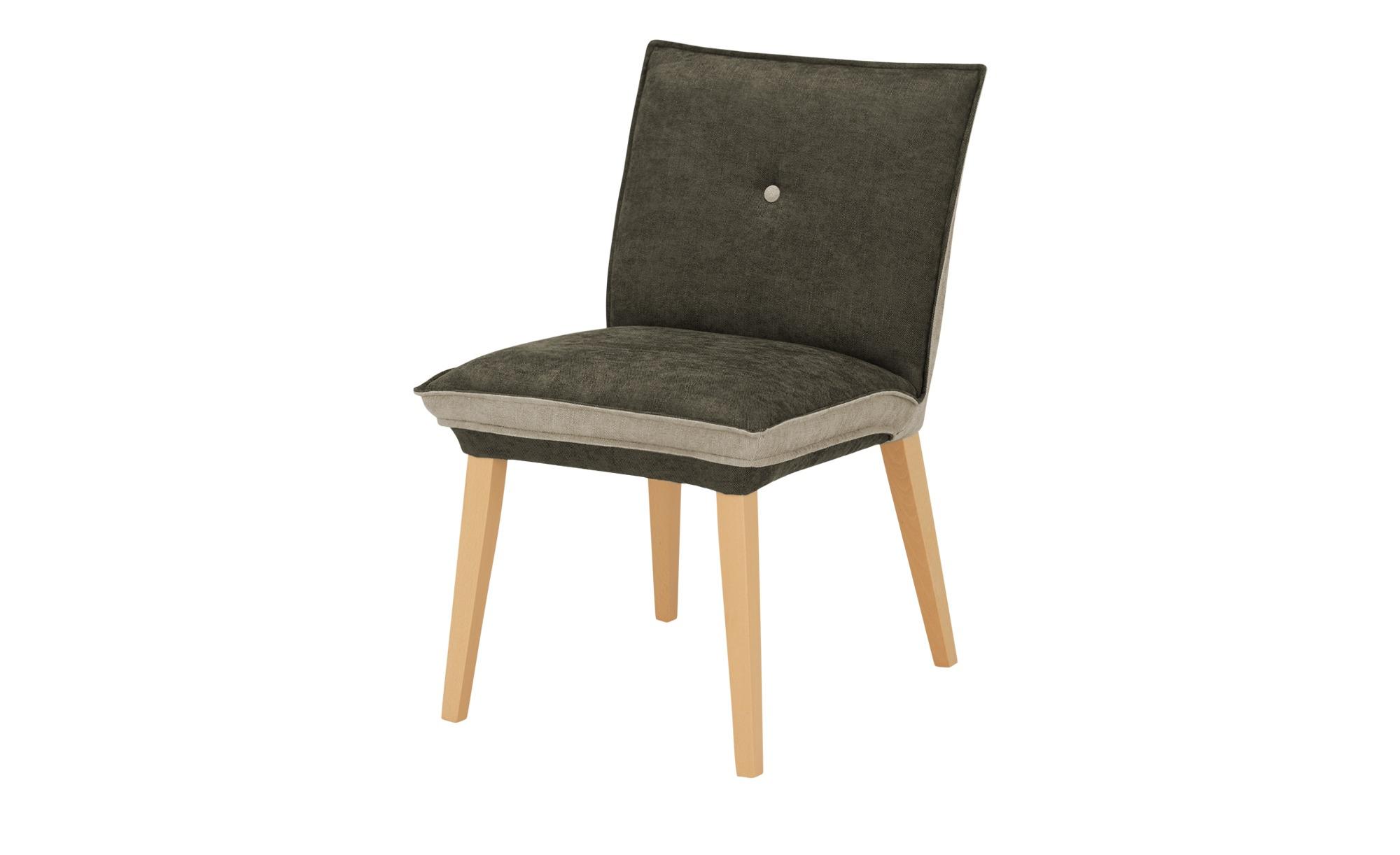 Woodford Polsterstuhl Sunna grau 52 cm 87 cm 65 cm Stühle > Esszimmerstühle Möbel Kraft