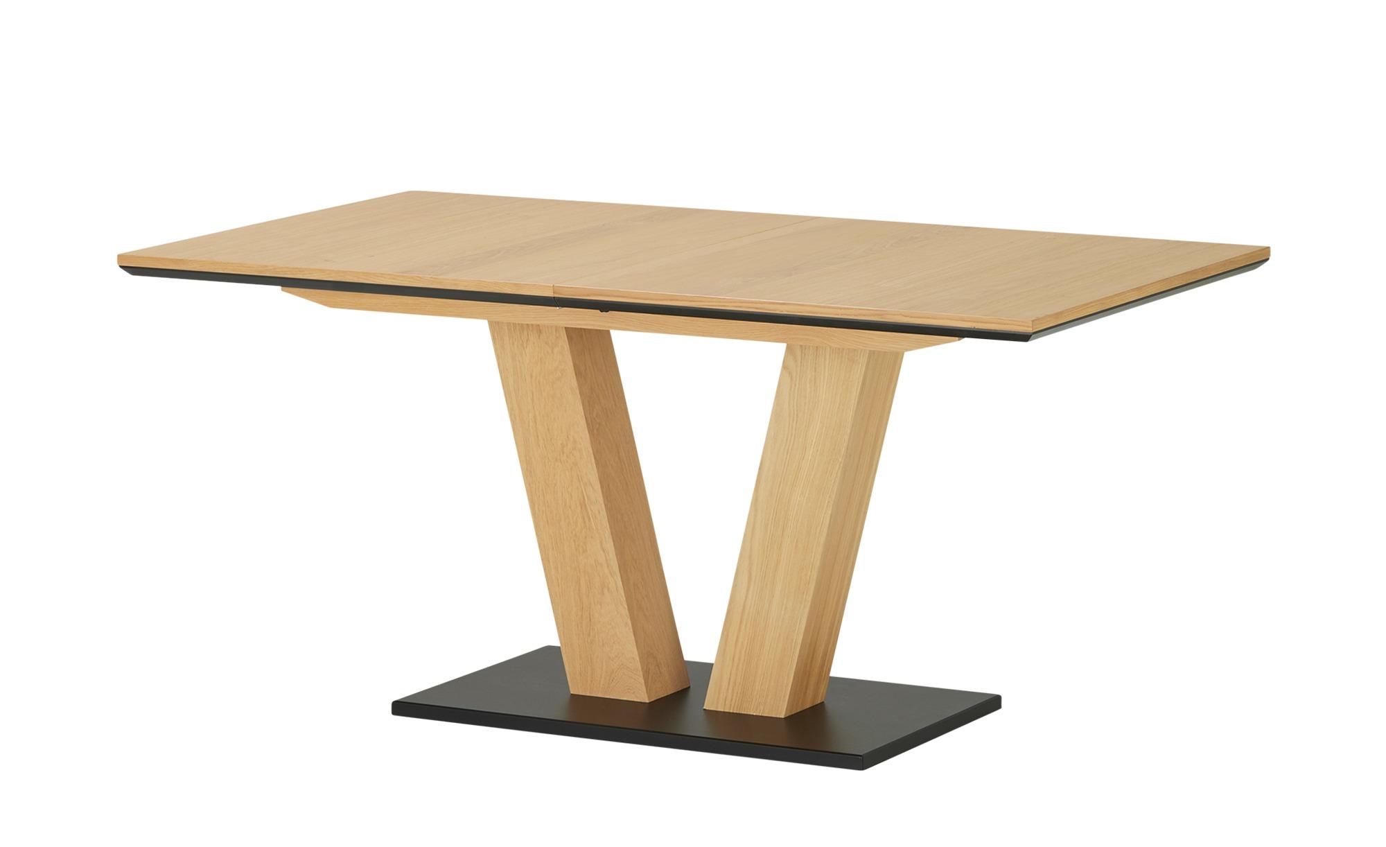 Esstisch ausziehbar  1593 ¦ holzfarben ¦ Maße (cm): B: 90 H: 76 Tische > Esstische > Esstische ausziehbar - Höffner