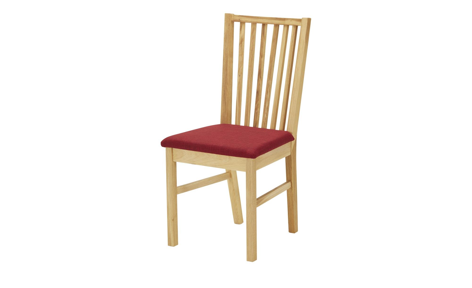 Stuhl  Norbert ¦ holzfarben Stühle > Küchenstühle > Küchenstühle mit Armlehnen - Höffner