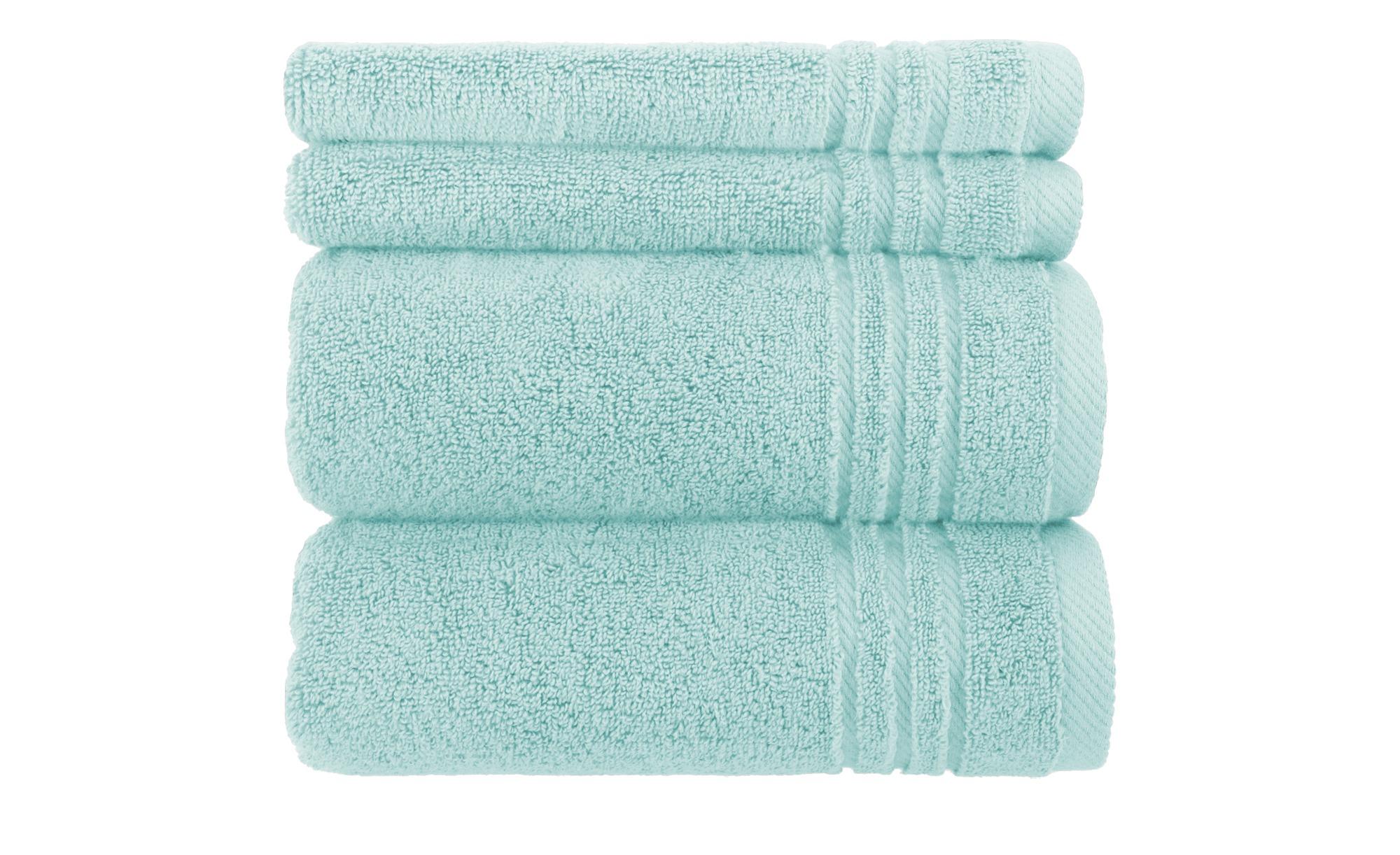 handtuch set t rkis 4 teilig soft cotton h ffner. Black Bedroom Furniture Sets. Home Design Ideas