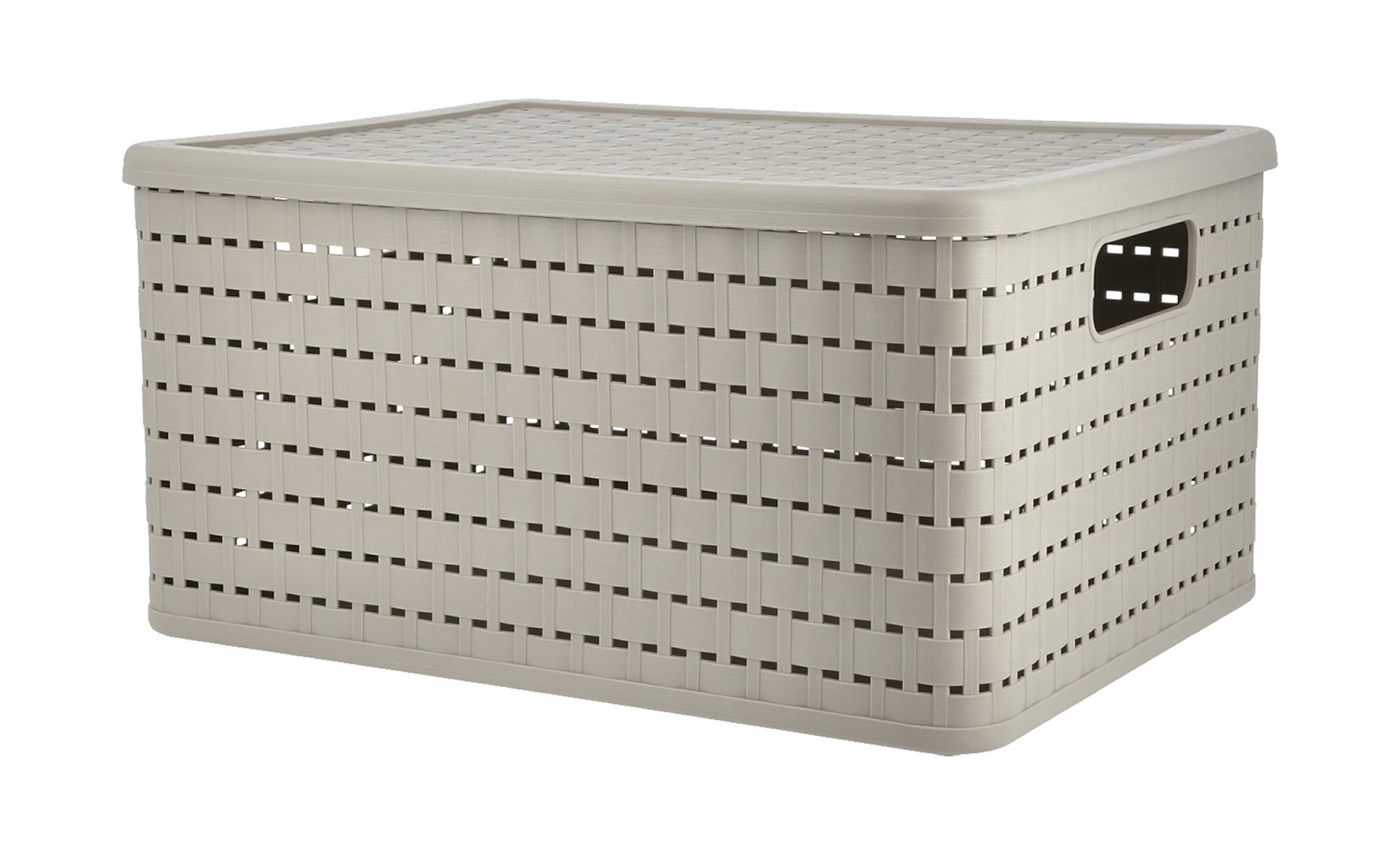 Aufbewahrungsbox mit Deckel, gefunden bei Möbel Höffner
