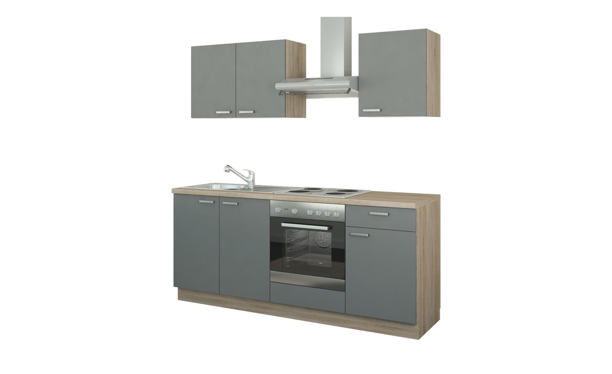 Küchenzeile mit Elektrogeräten  Ahlen ¦ Maße (cm): B: 200 Küchen > Küchenblöcke mit E-Geräten - Höffner