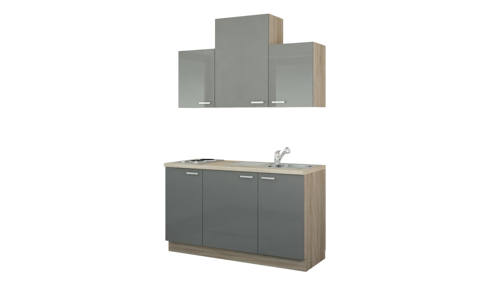 Küchenzeile mit Elektrogeräten  Aue ¦ Maße (cm): B: 150 Küchen > Küchenblöcke mit E-Geräten - Höffner