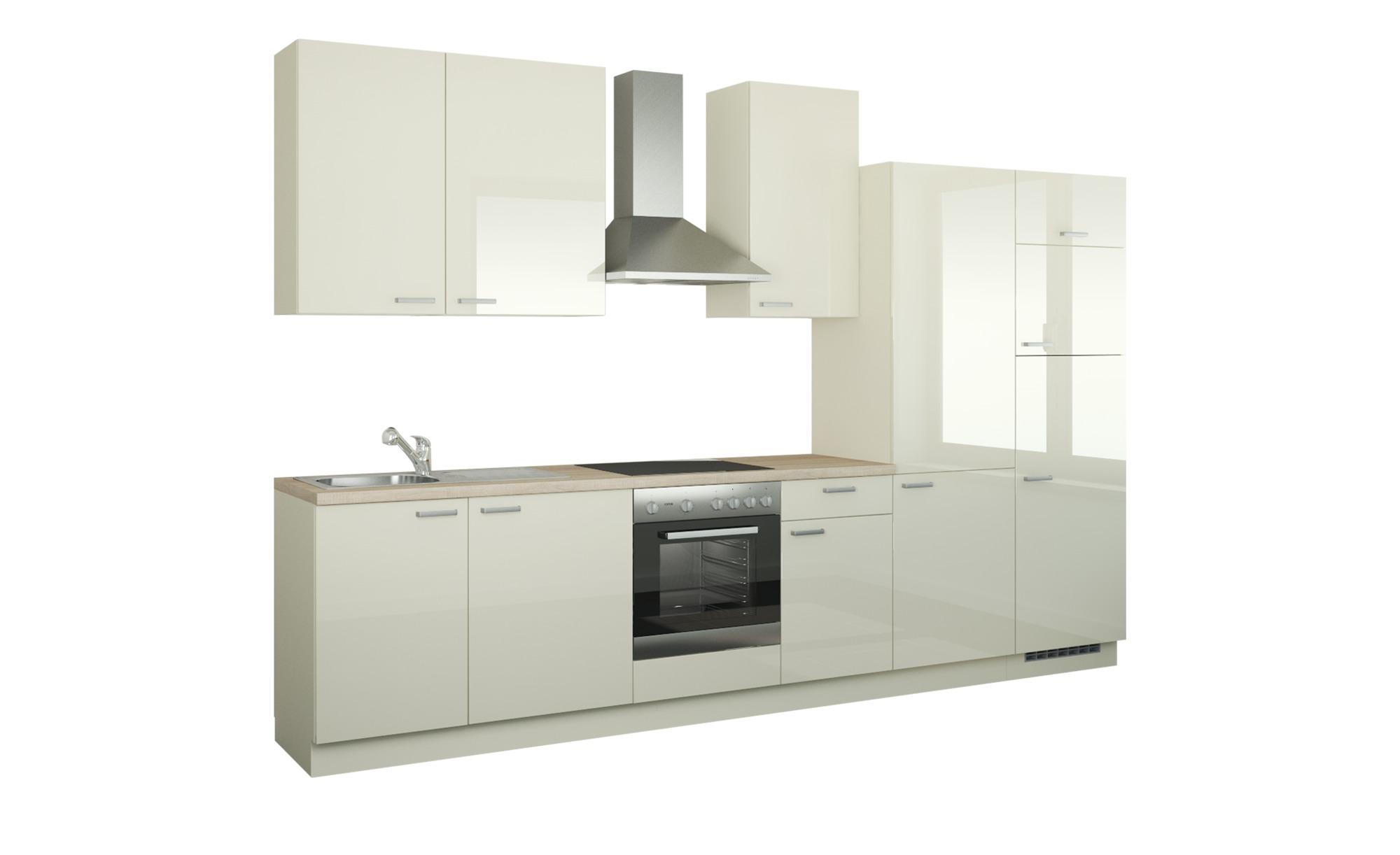 Kuchenzeile Mit Elektrogeraten Duisburg Creme Masse Cm B 340 Kuchen Kuchenblocke Hoffner